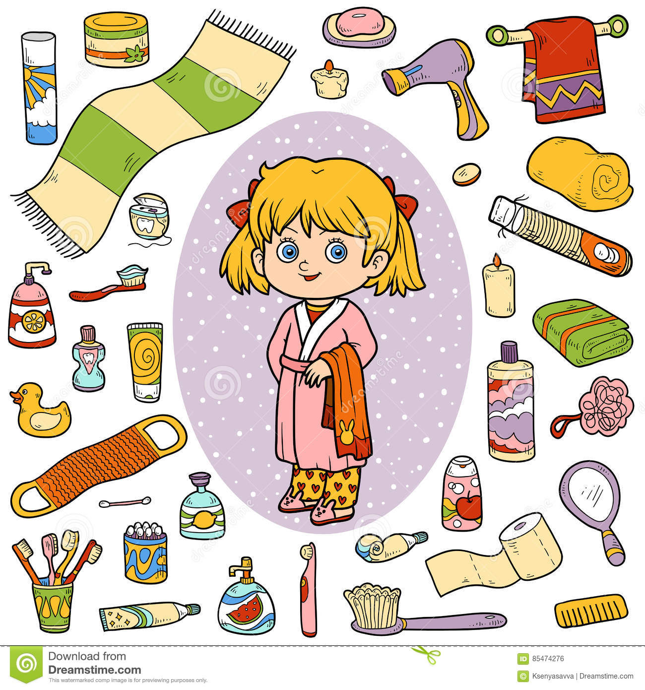 Bathrobe Stock Illustrations 1532 Vectors Clipart