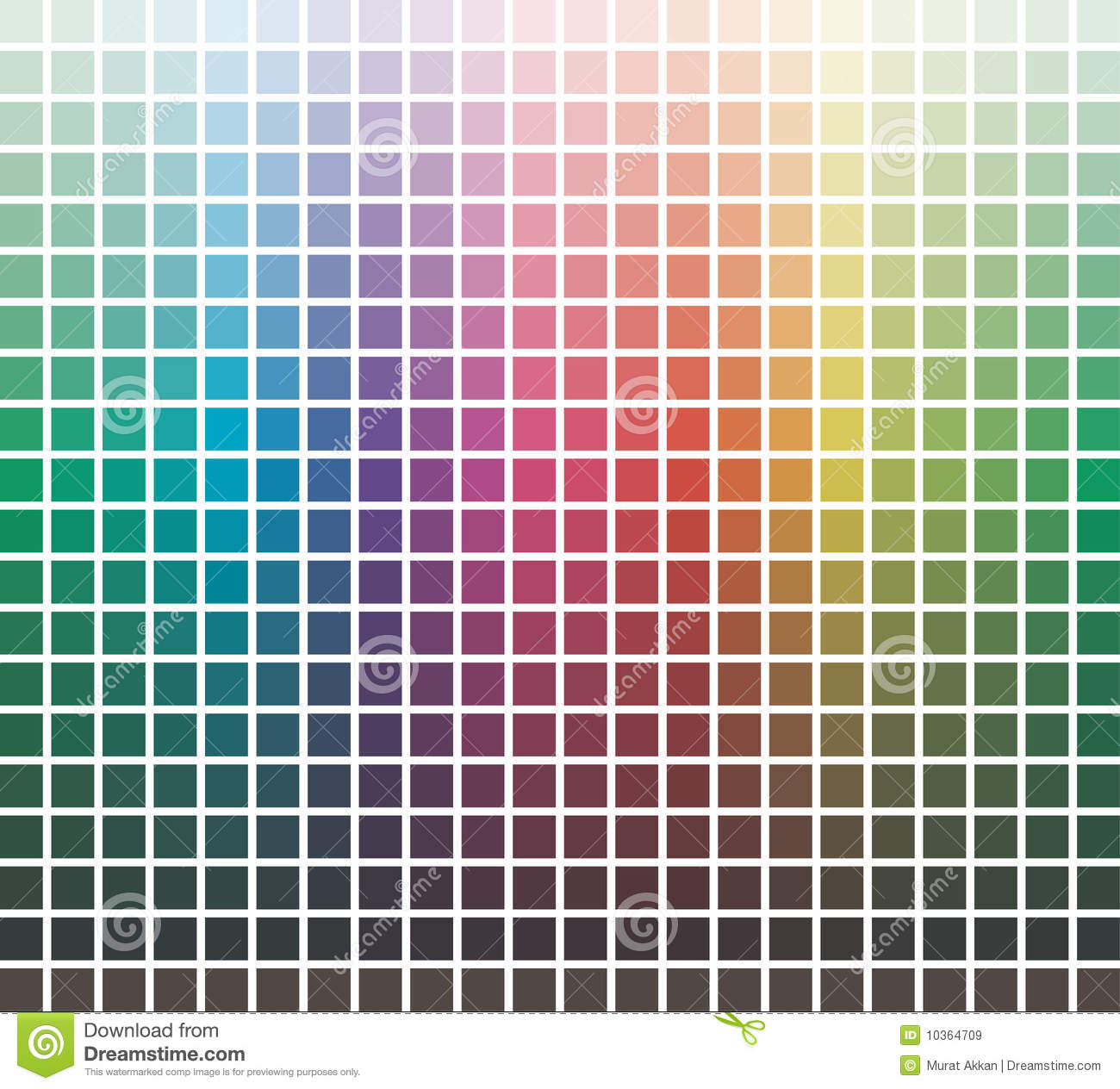 Vector Colors Library Royalty Free Stock Images Image