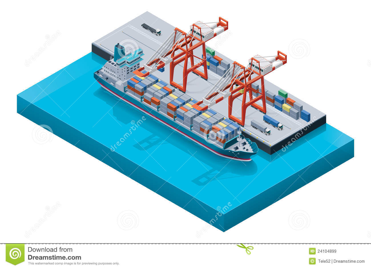 clipart container ship - photo #20