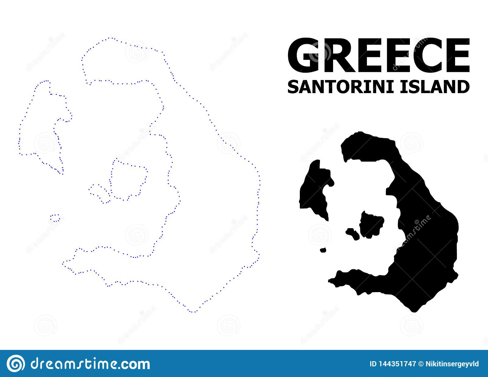 Vector Contour Dotted Map Of Santorini Island With Name Stock Vector on map of current volcanic activity, map of patmos, map of penedes, map of northern rhone, map of akrotiri, map of spain, map of orestiada, map of greek islands, map of bear island, map of rio de janeiro, map of rovaniemi, map of pommard, map of oia, map of kastellorizo, map of greece, map of agrinio, map of mykonos, map of isla margarita, map of ancient minoans, map of crete,