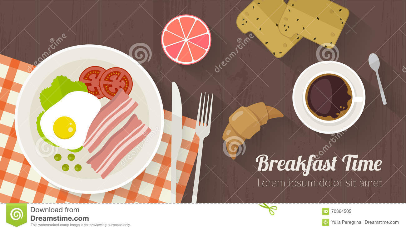 Strange Vector Cooking Time Illustration With Flat Icons Fresh Food Download Free Architecture Designs Scobabritishbridgeorg