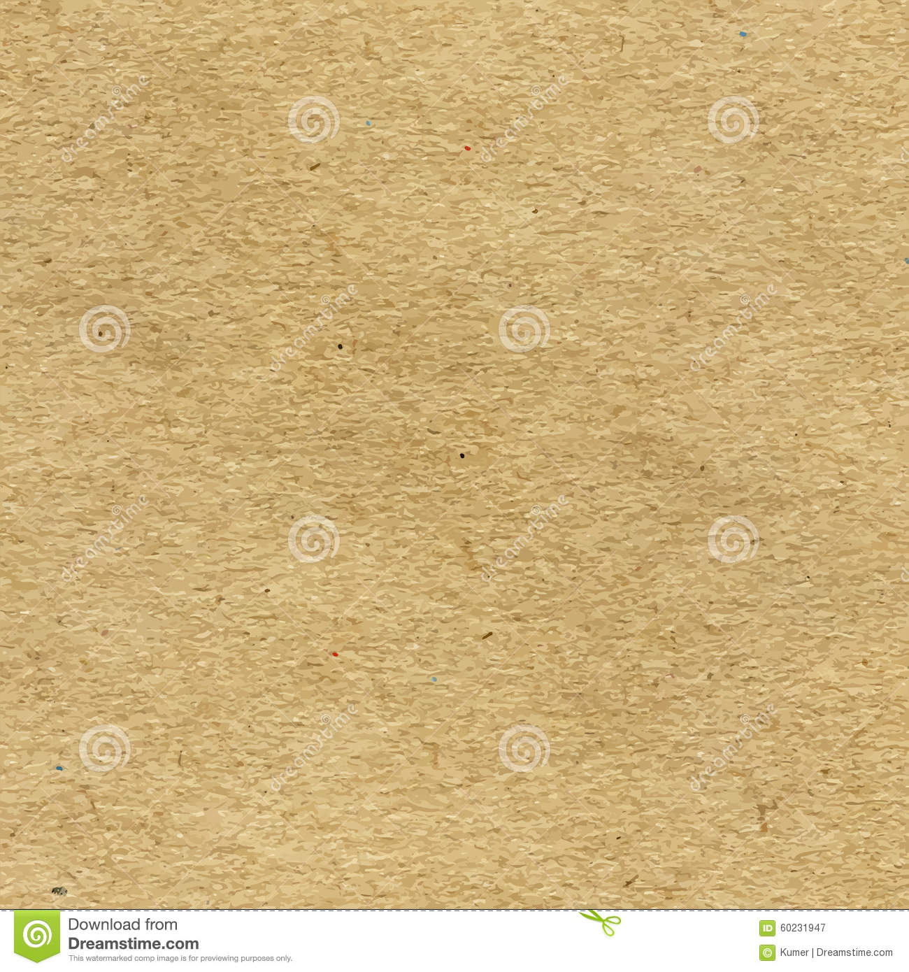 Vector Craft Recycled Paper Texture Stock Vector - Image ...