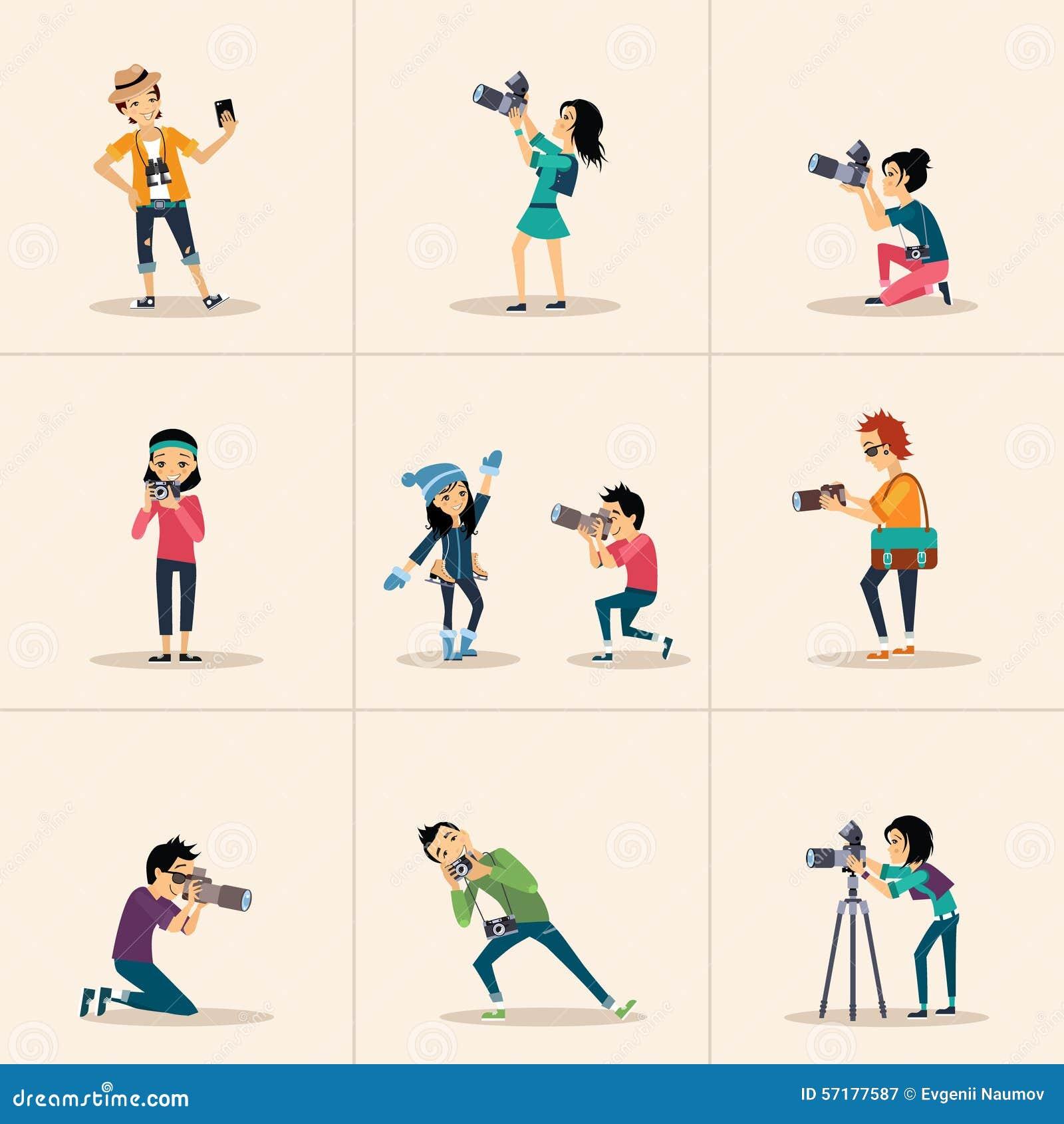 Character Design Artist Job Description : Vector creative character design posing while