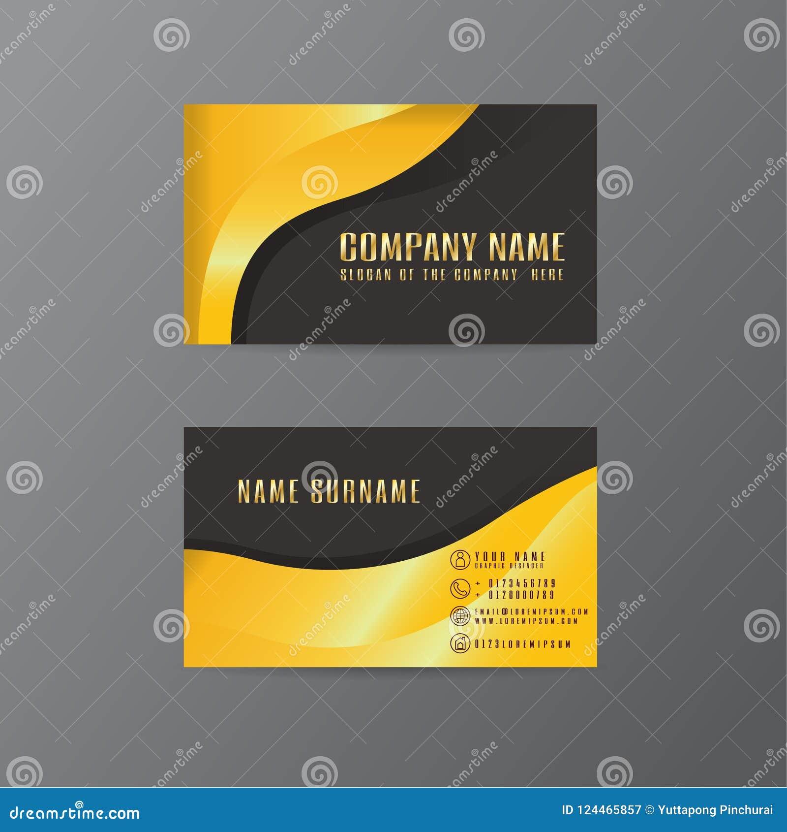 Vector creative leaf business card gold and black design of text download vector creative leaf business card gold and black design of text stock vector illustration colourmoves