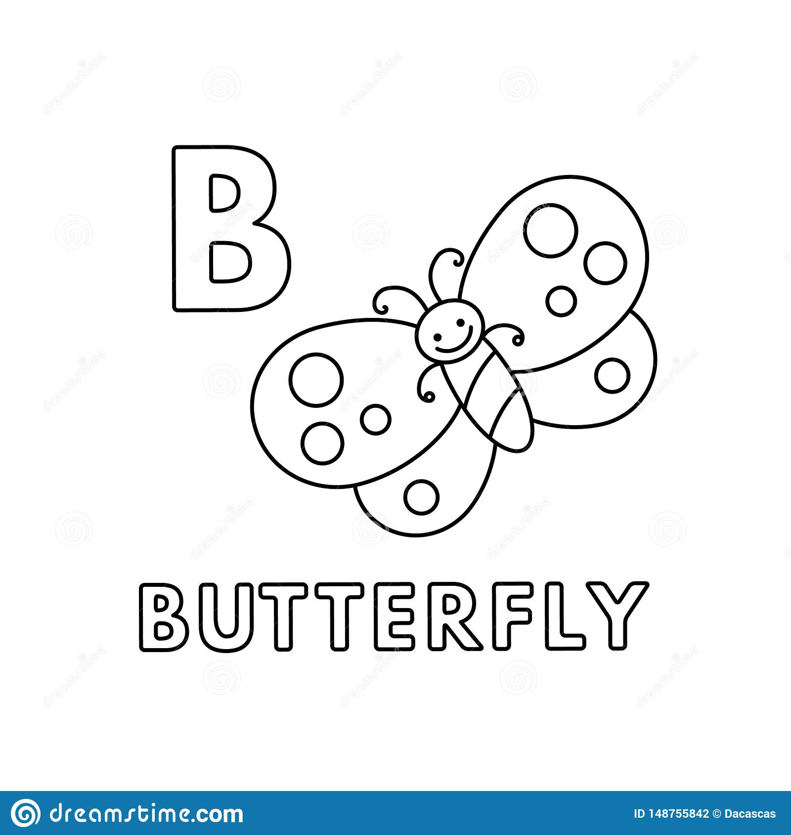 Butterfly coloring pages cute for kids, printable free | 1689x1600