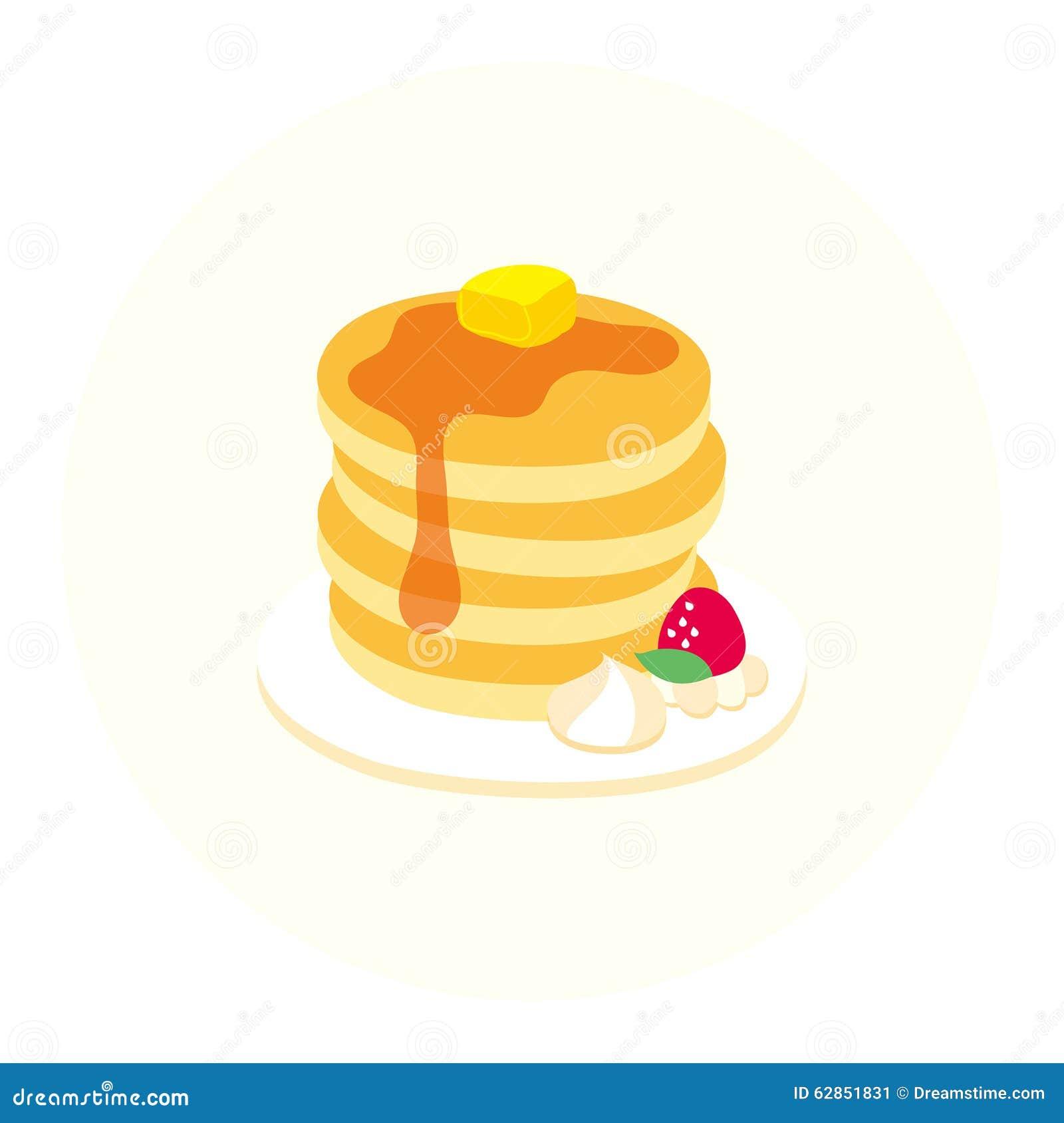 Pancake Tower Cake