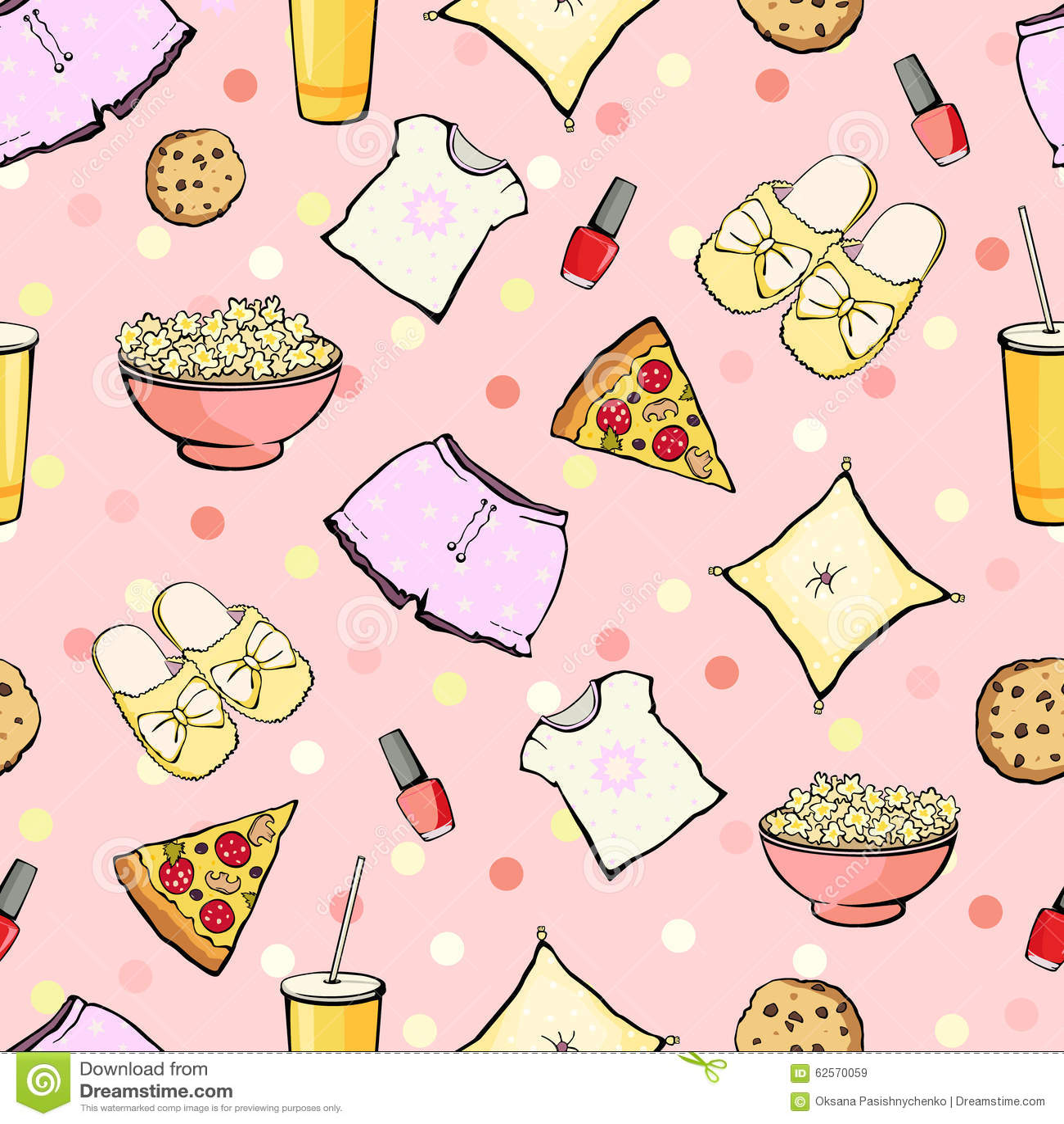 Girls Sleepover Stock Illustrations – 32 Girls Sleepover Stock ...
