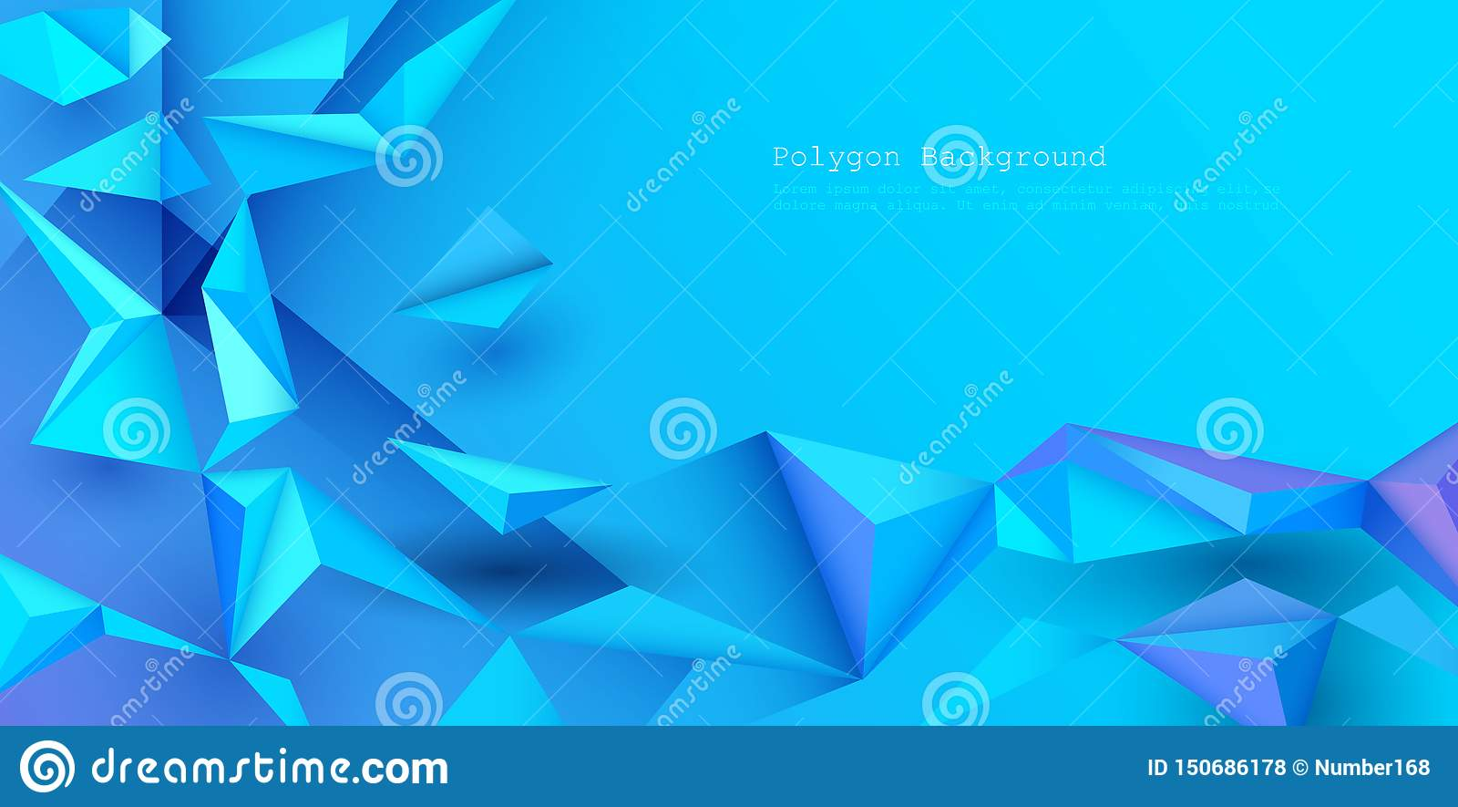 Vector 3d Geometric Polygon Line Triangle Pattern Shape