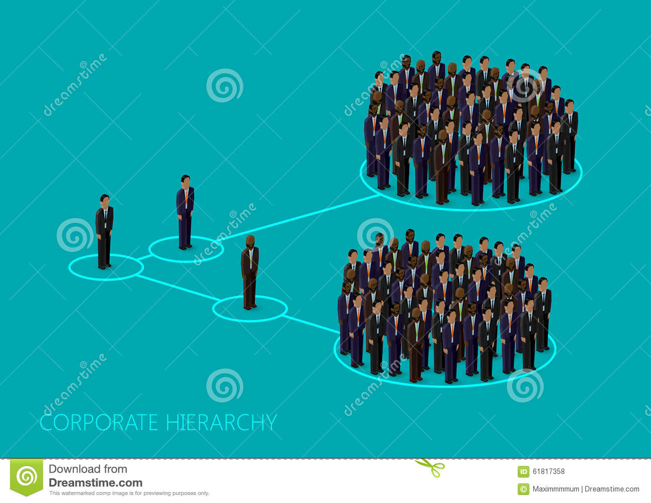 Business Management Structure Infographics Stock Vector ...