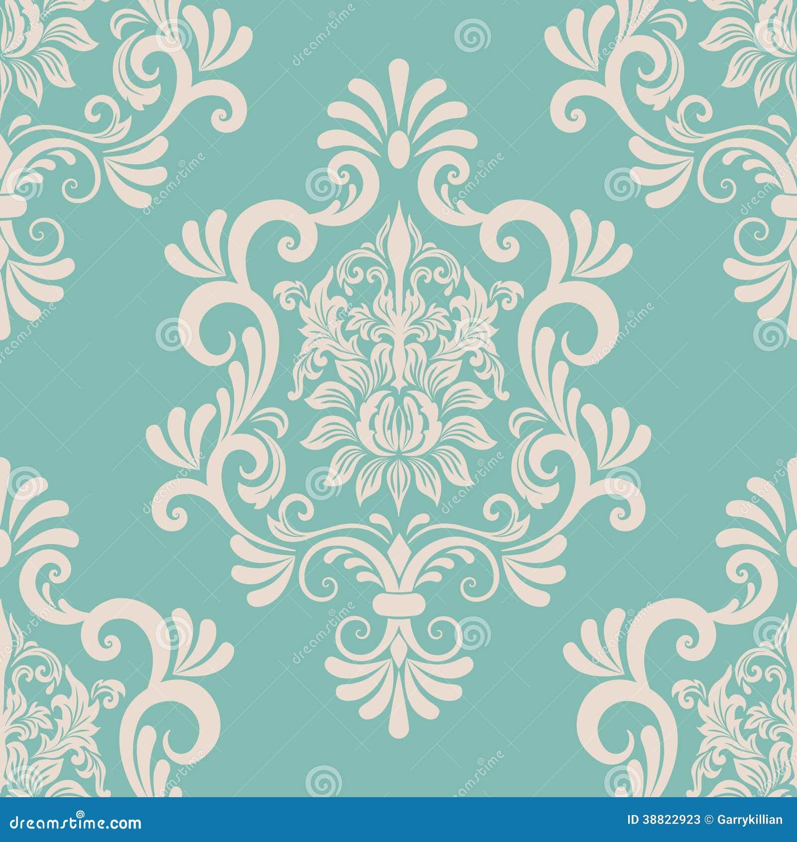 vector seamless renaissance wallpaper - photo #26