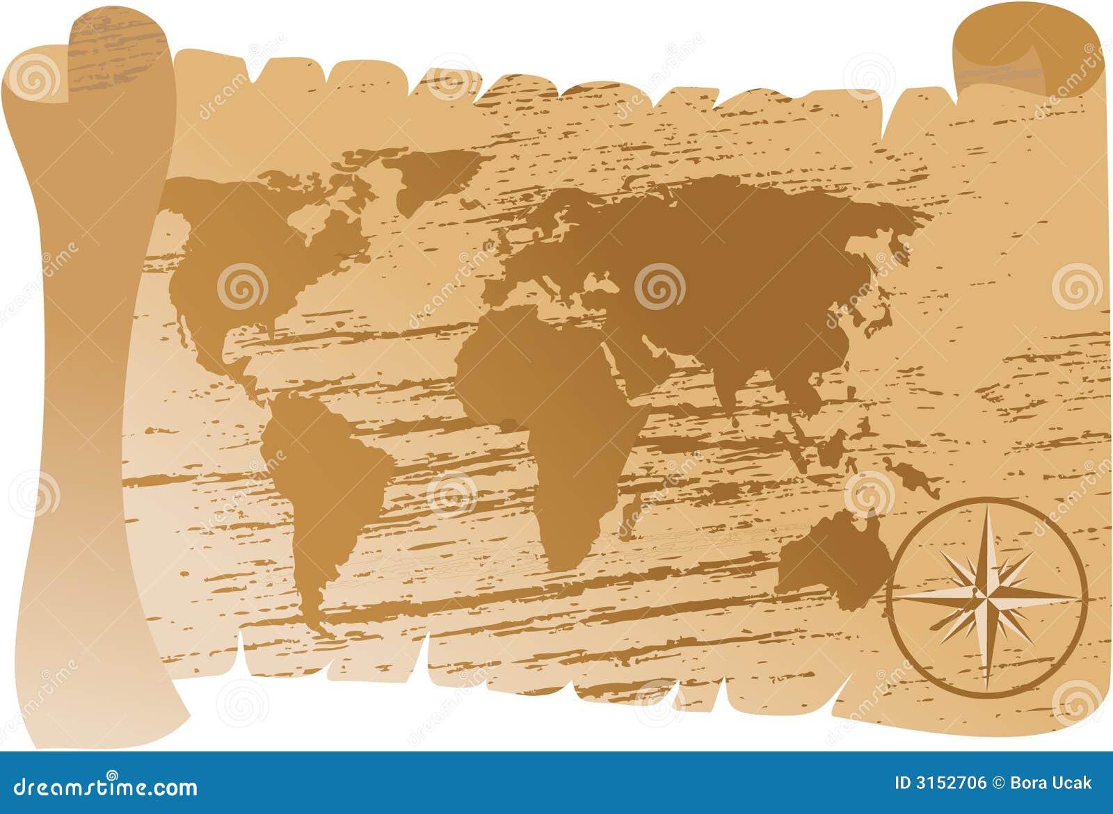Vector de la correspondencia del Viejo Mundo