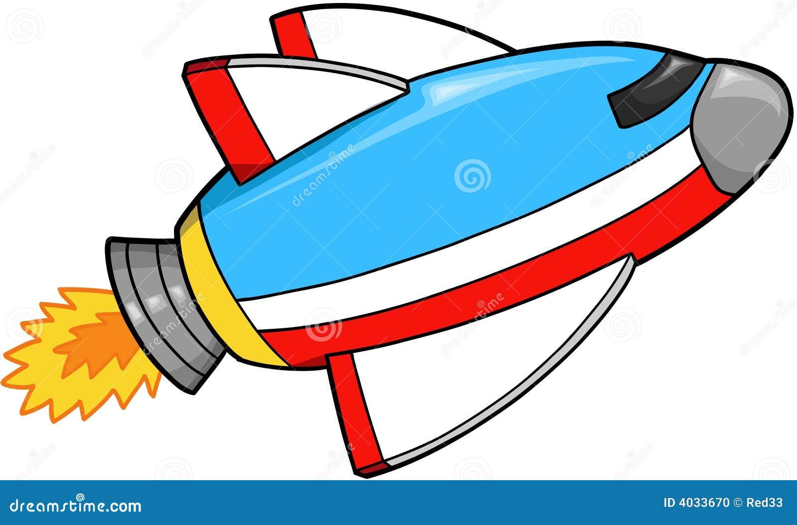 Vector de la nave espacial ilustración del vector. Ilustración de ...