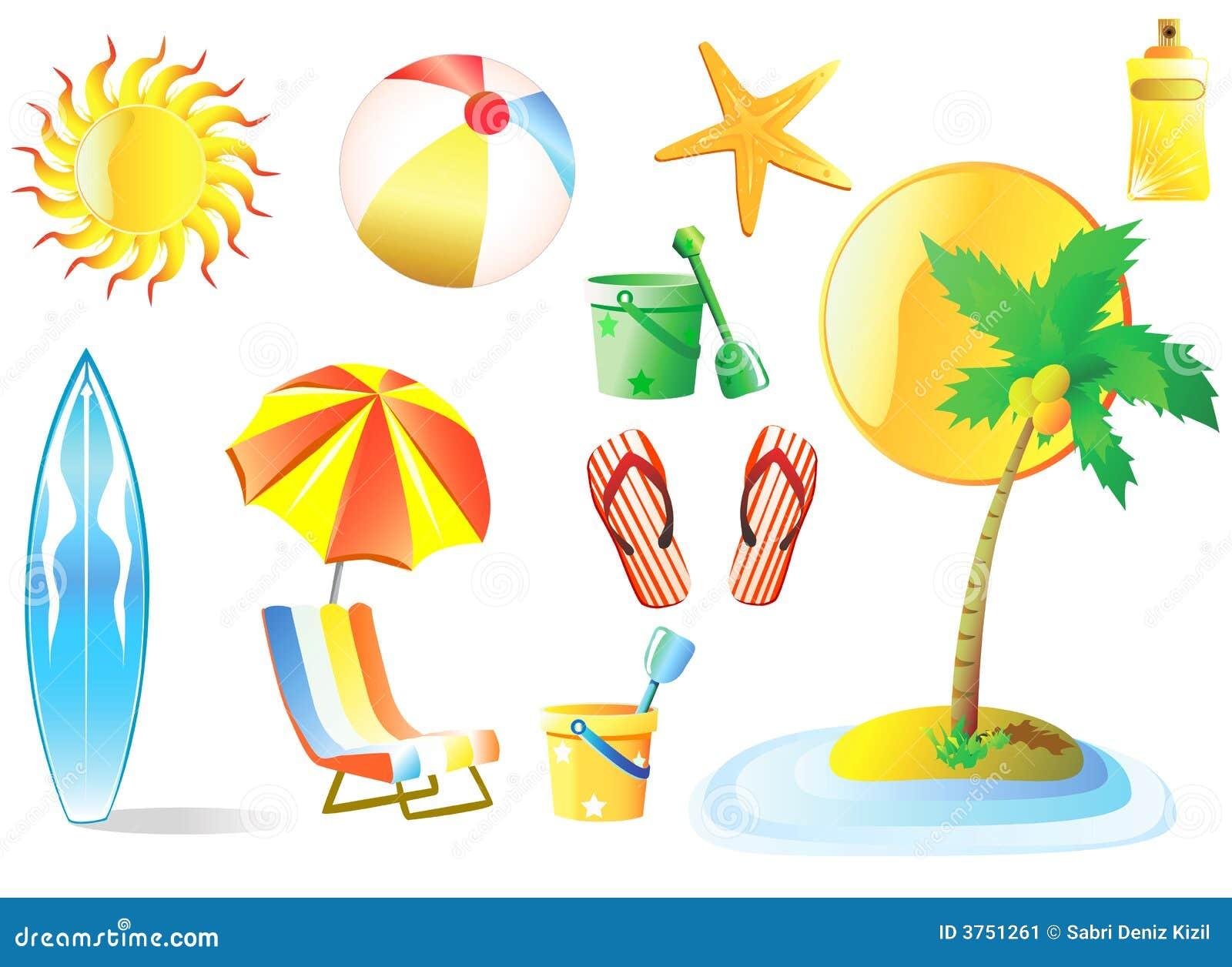 vector de la playa ilustración del vector ilustración de vela 3751261