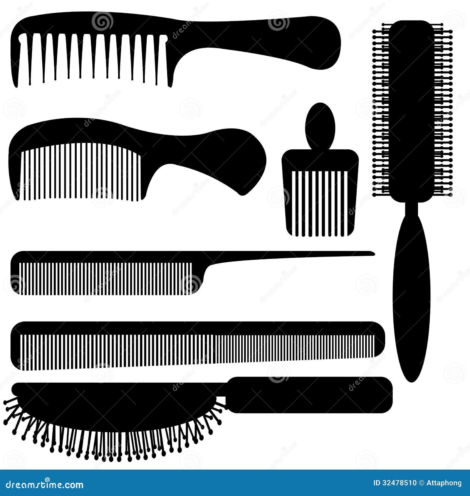 Comb hair clipart