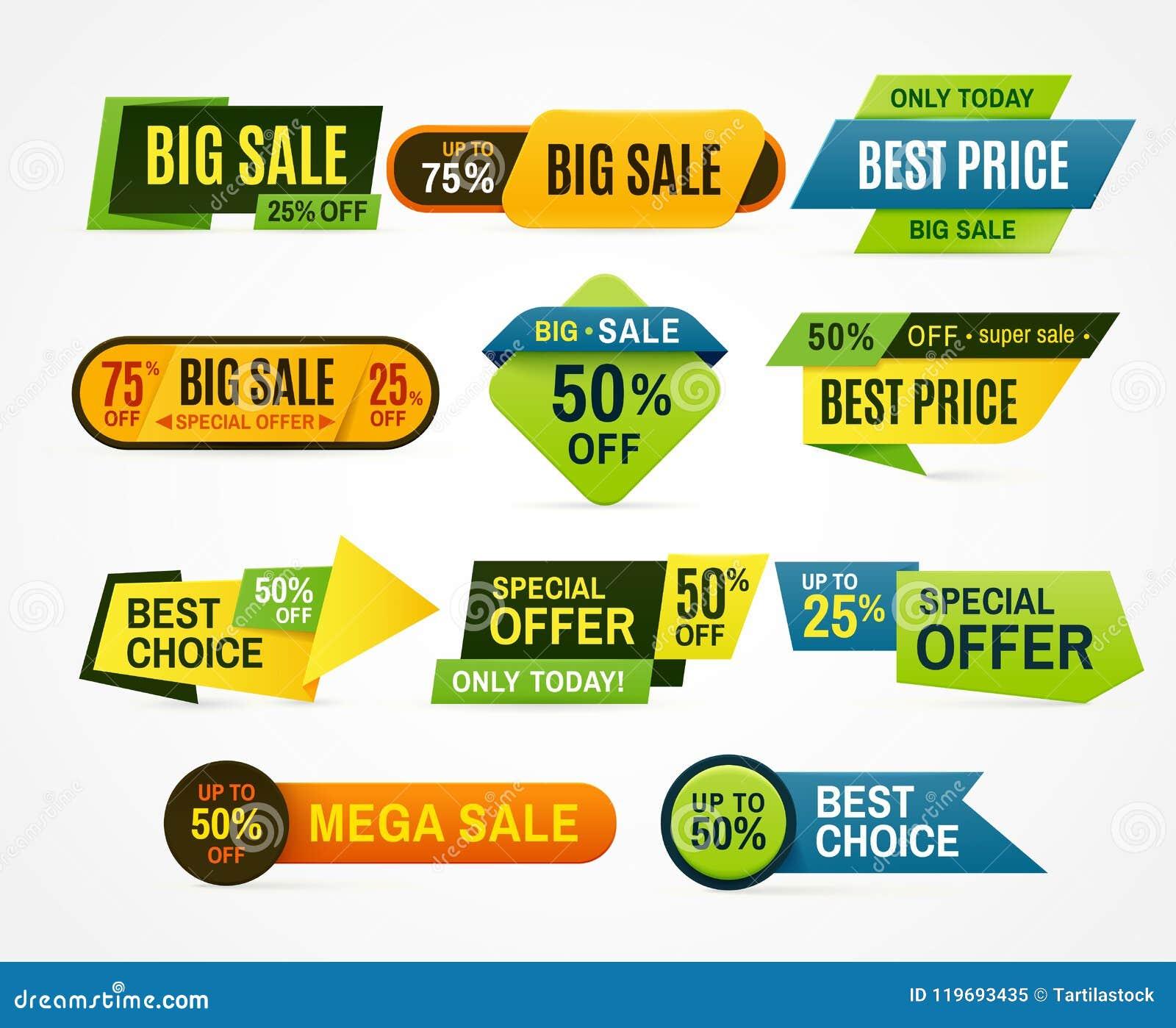 Vector de las insignias de la calidad y de la satisfacción garantizada Etiqueta del precio Aviador de la etiqueta engomada o del