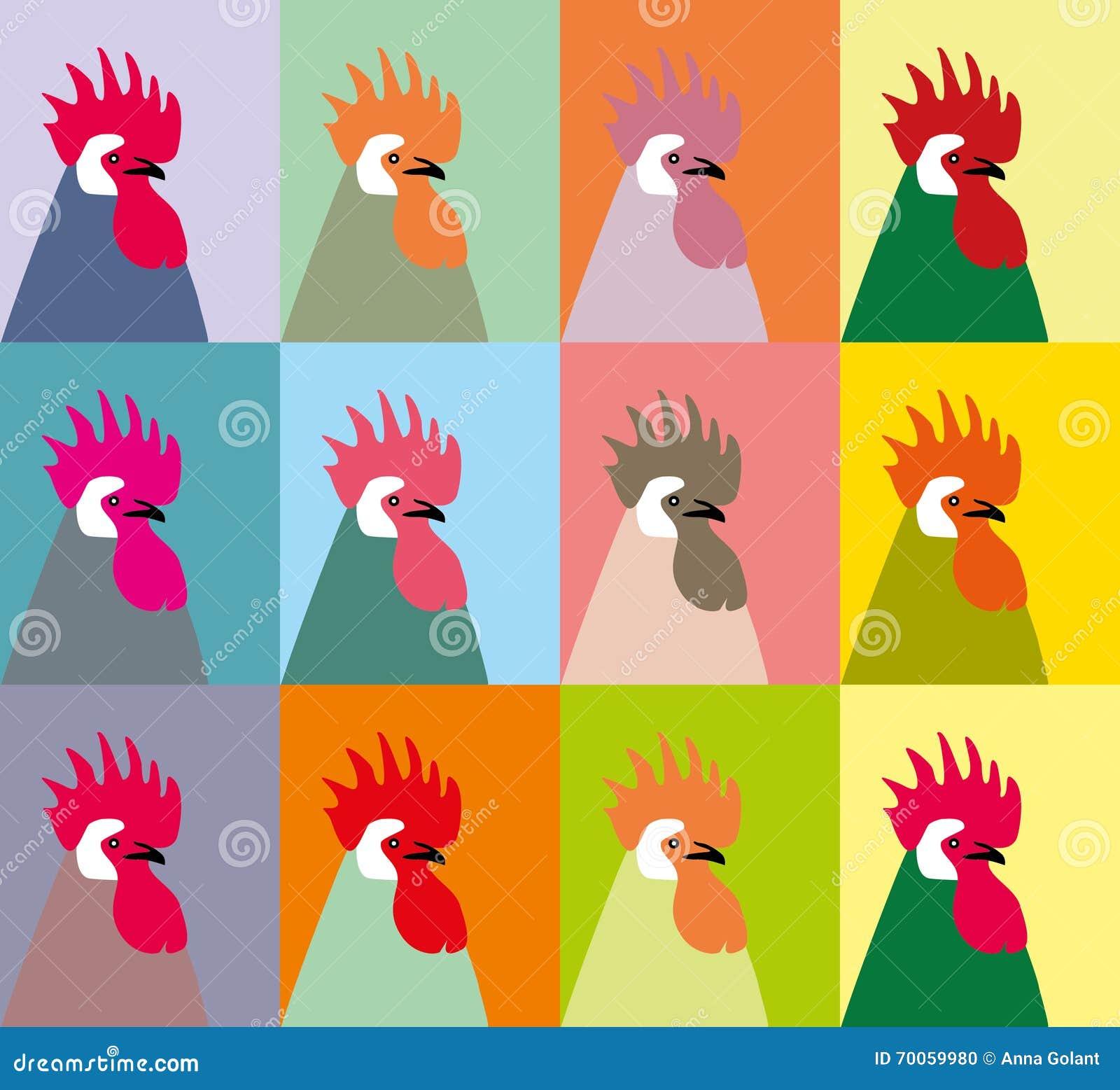 gallos gallo rooster chicken cubierta