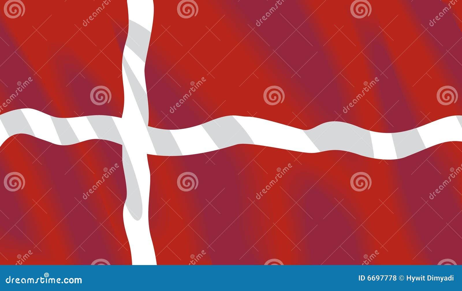 Vector Deense Vlag