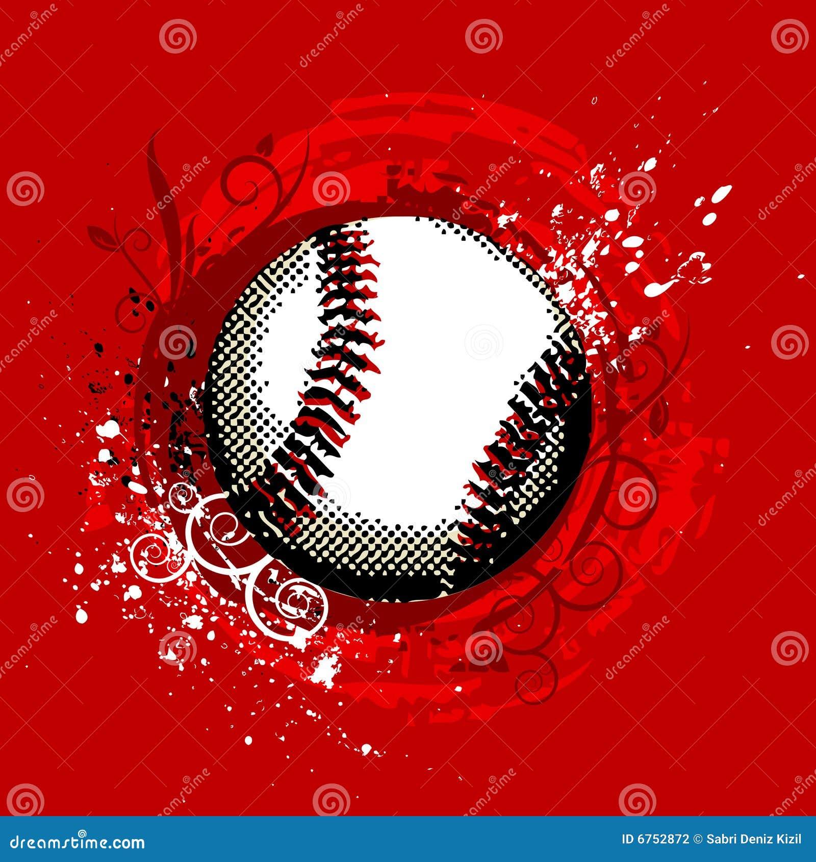 Vector del béisbol
