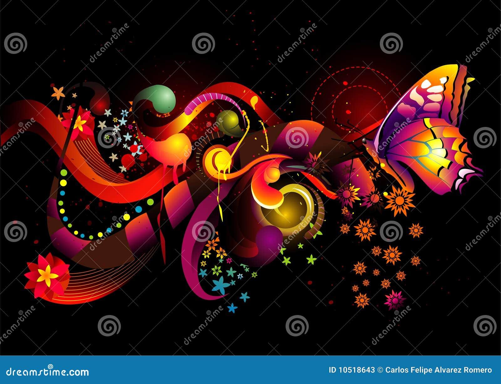 Vector del color de la mariposa fotos de archivo imagen - Imagenes de mariposas de colores ...