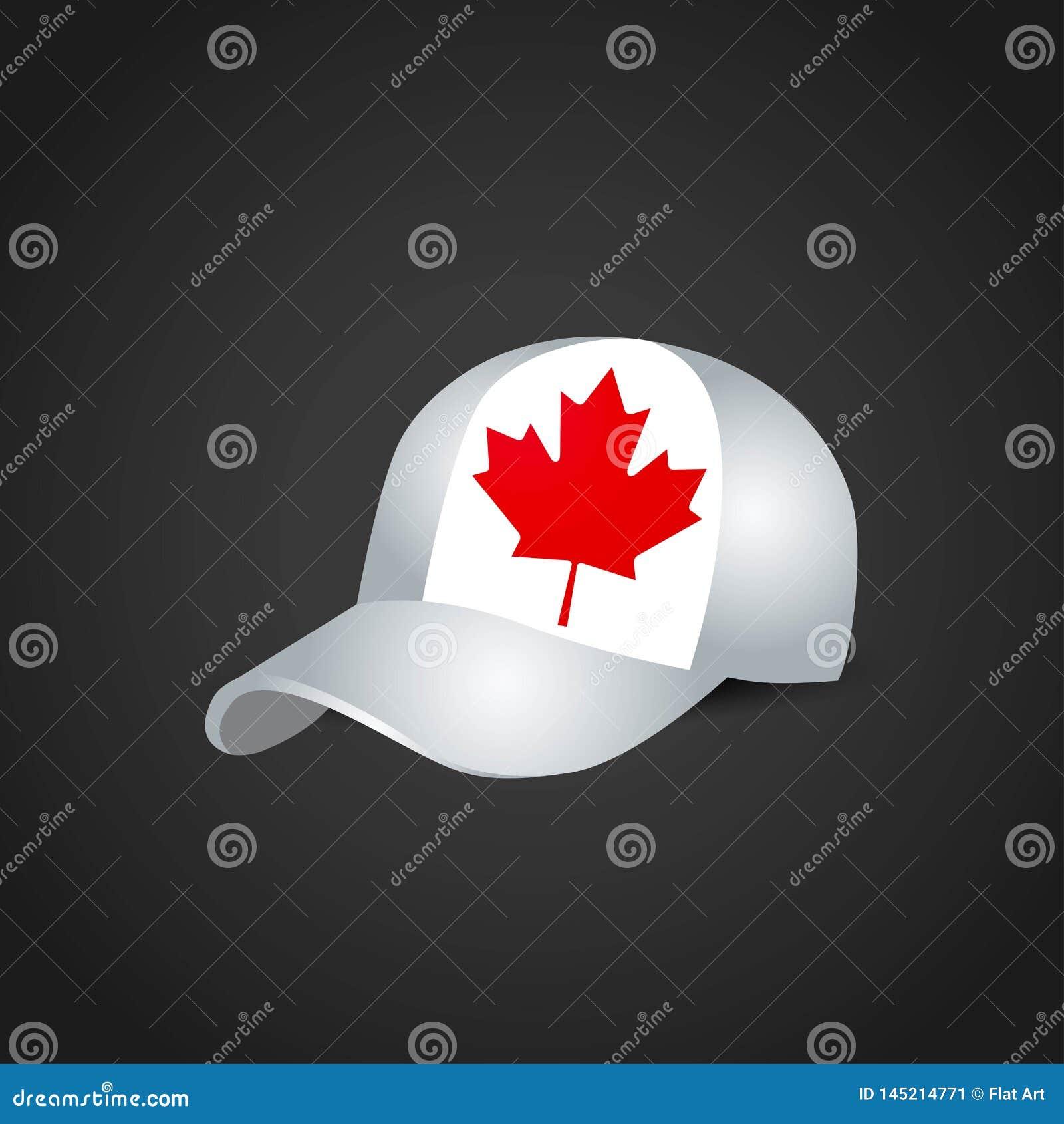 Vector del diseño del casquillo de las banderas