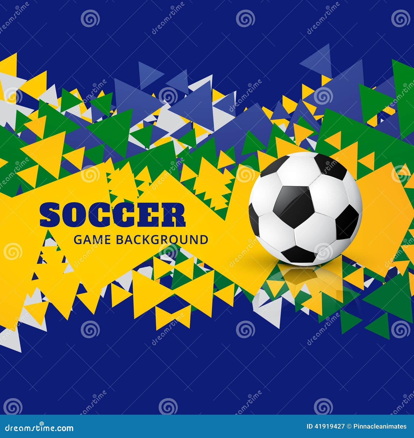 Vector del diseño del fútbol