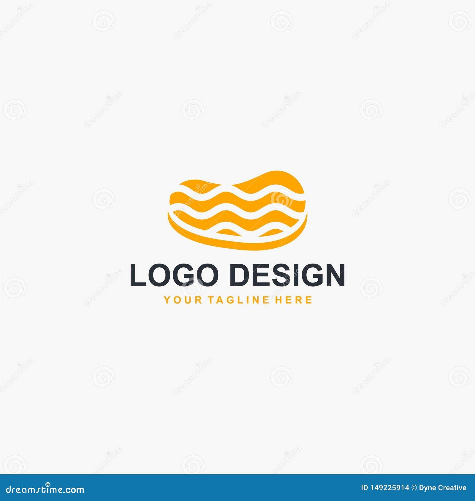 Vector del diseño del logotipo de la carne del filete Diseño del logotipo de la comida para el negocio de restaurante