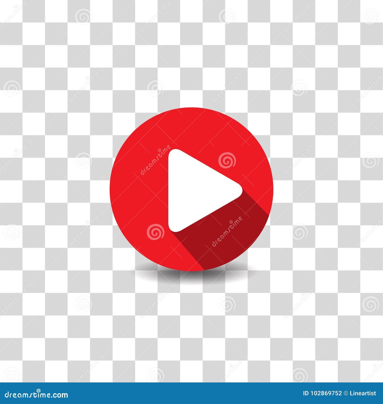 Vector del icono del botón de reproducción