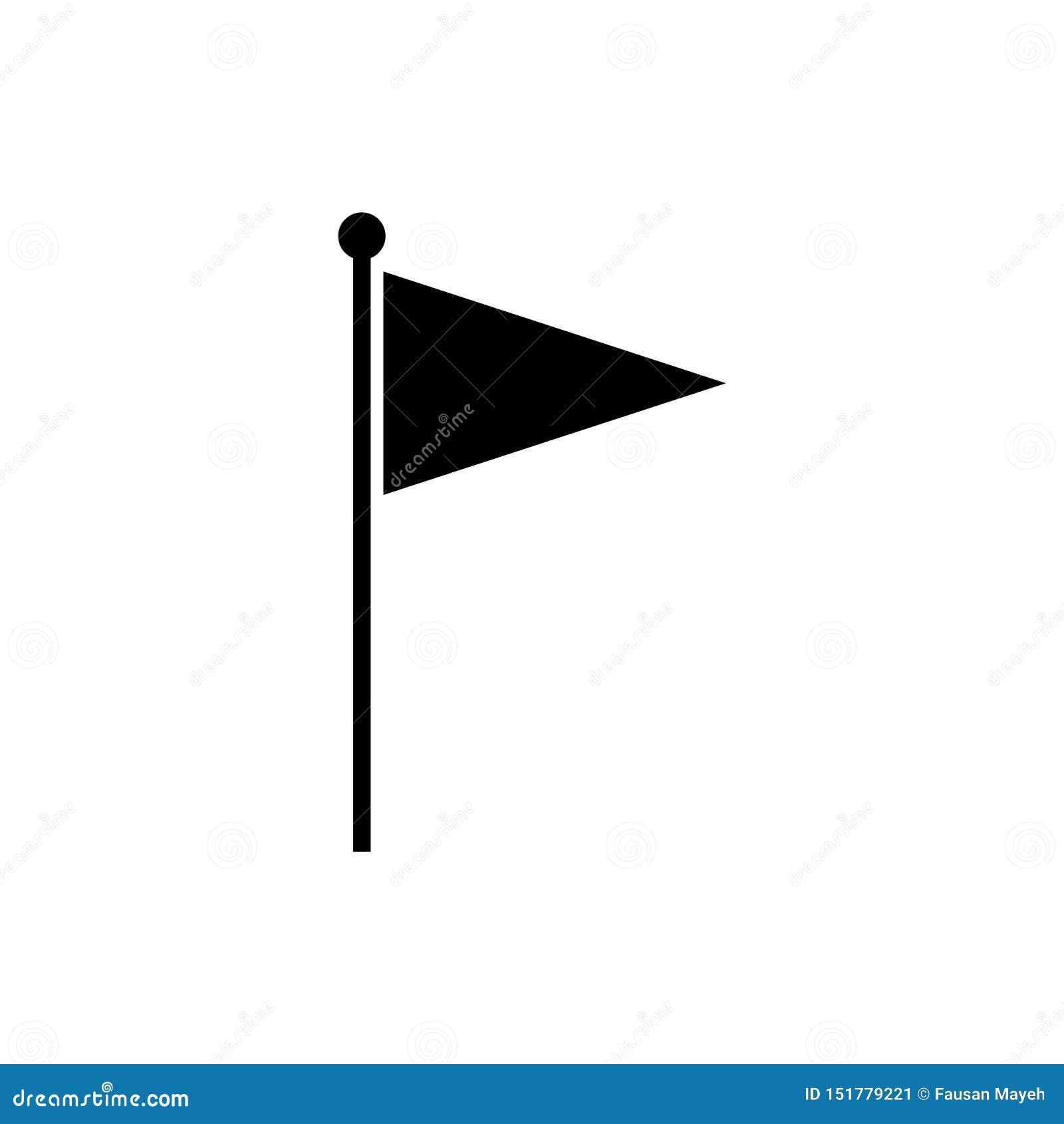 Vector del icono de la bandera