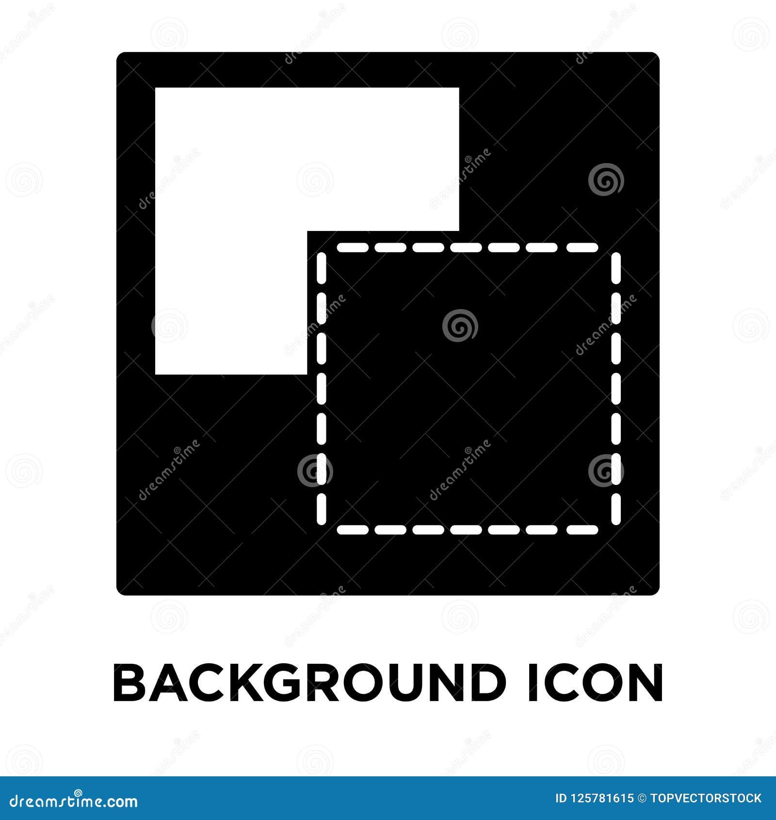Vector del icono del fondo aislado en el fondo blanco, concep del logotipo