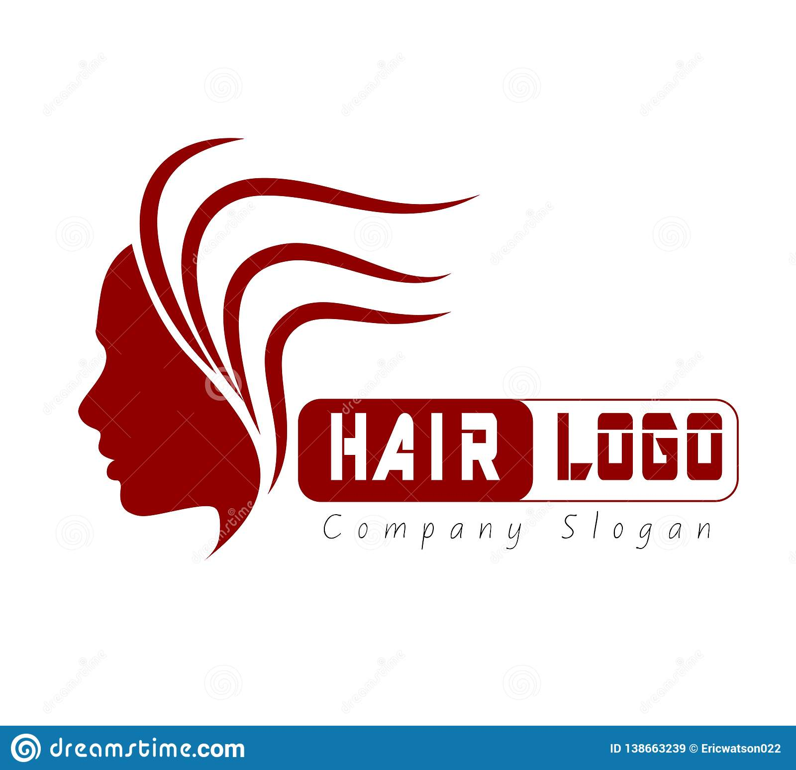 Vector del icono del pelo