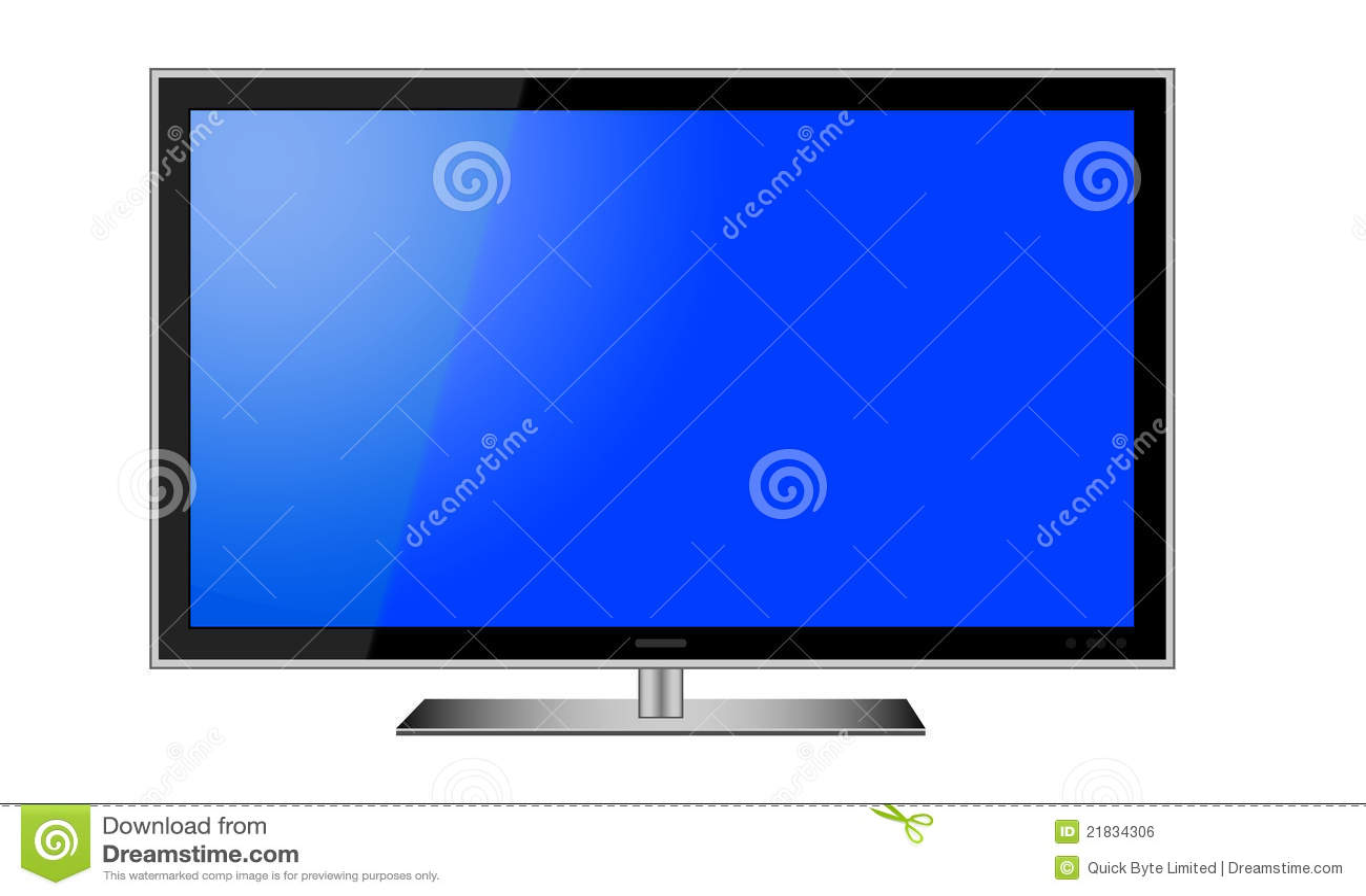Vector del LCD TV