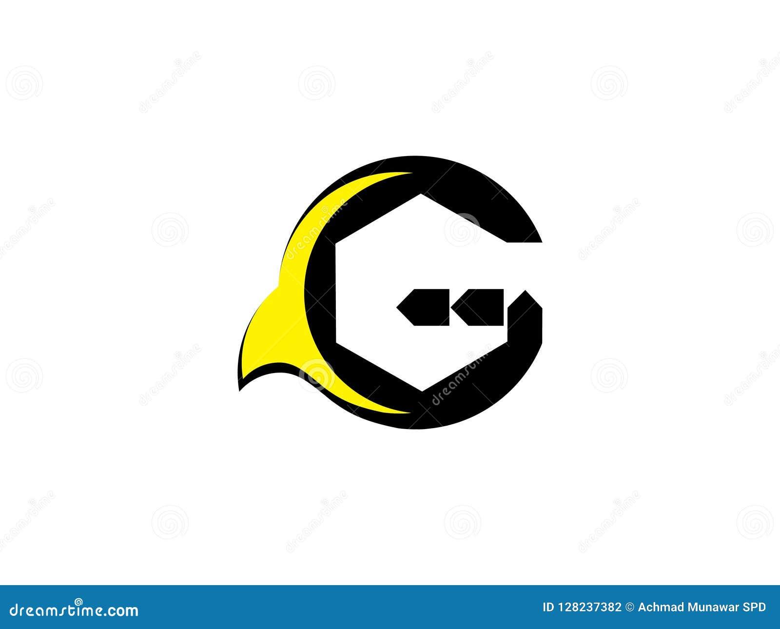 Vector del logotipo de la muestra de la comunidad de G de la letra Símbolo de la unidad Personal de la compañía Organización públ