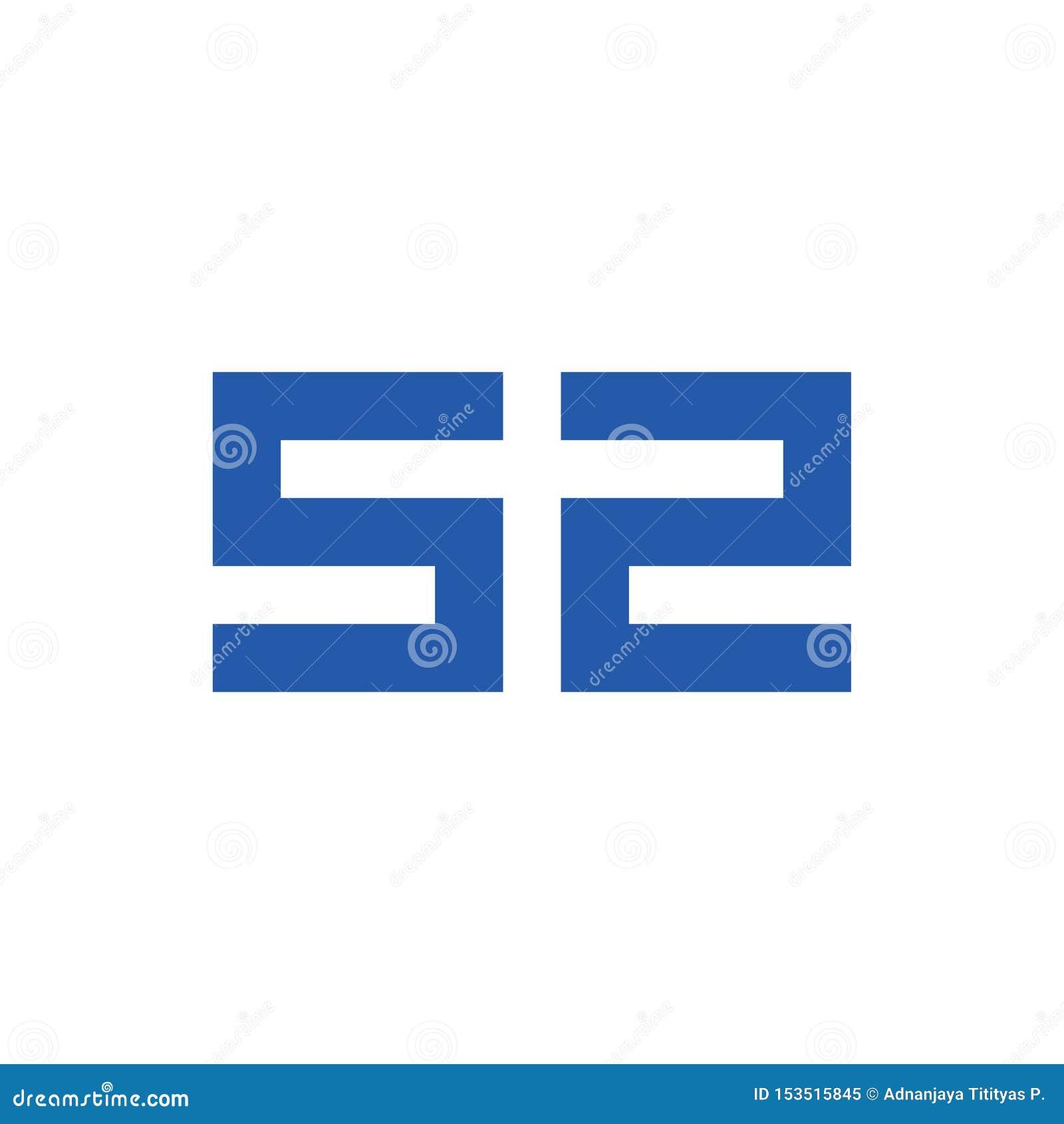 Vector del logotipo del símbolo del número 52