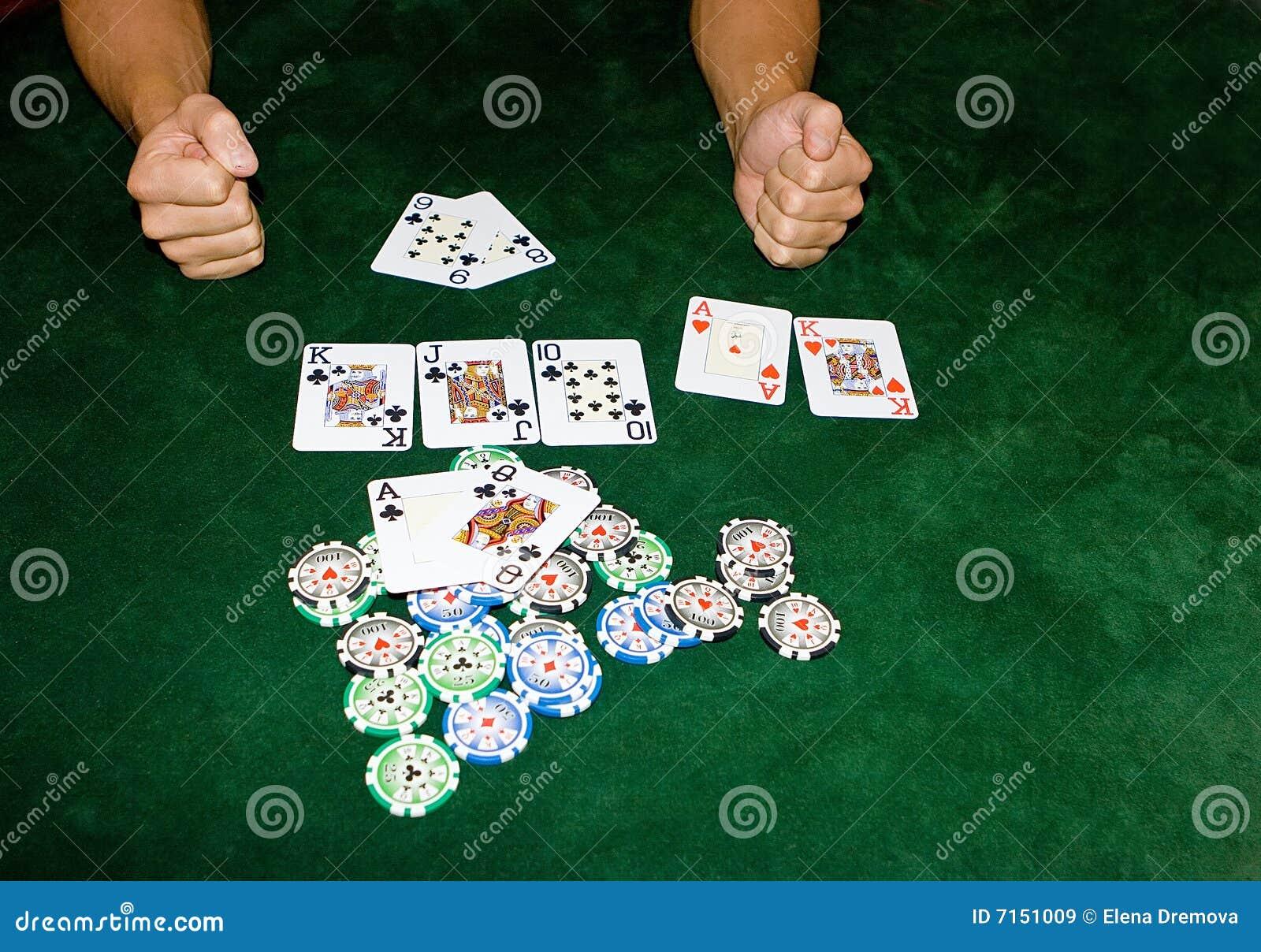 Vector del póker