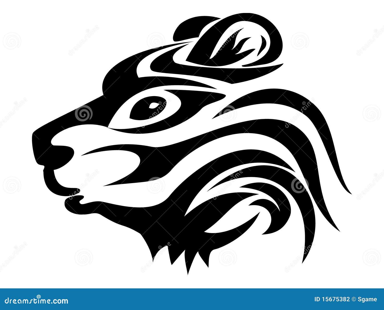 Rana Tribal Ilustración Del Vector Ilustración De Vector 33267684