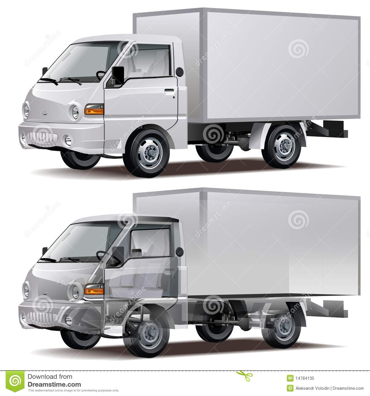 delivery truck vector - photo #14