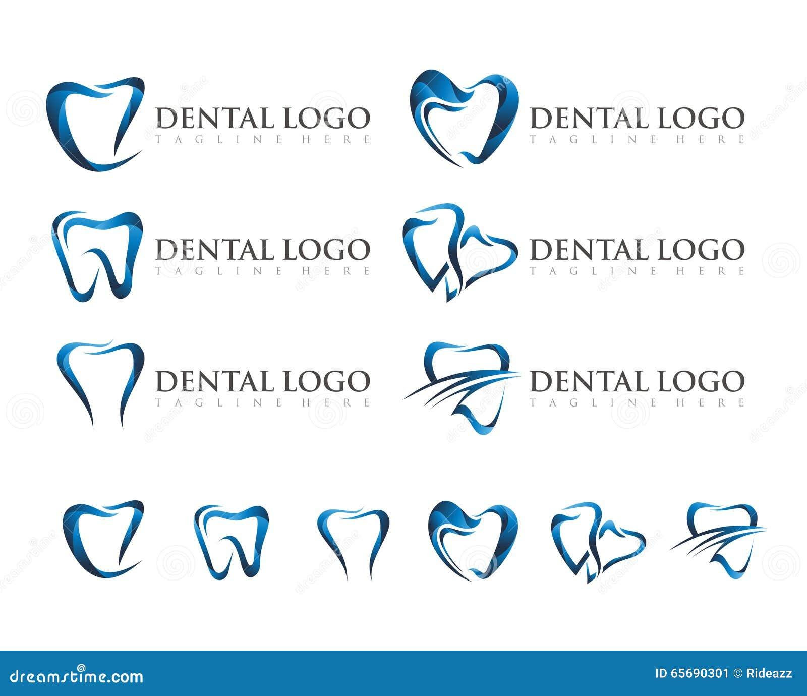 VECTOR : DENTAL LOGO DESIGN Stock Vector - Image: 65690301