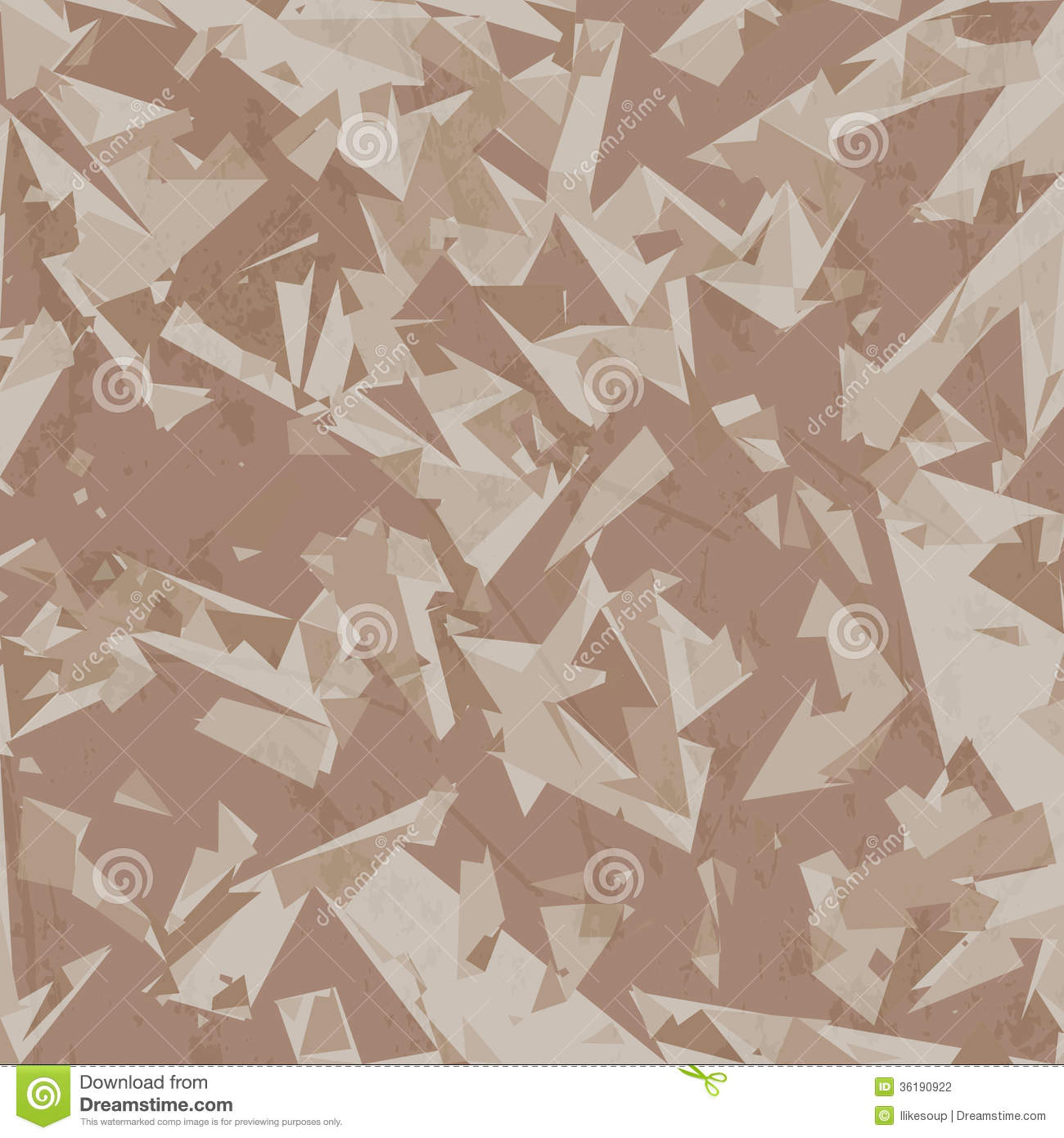 Vector Desert Camouflage Background Stock Vector ...
