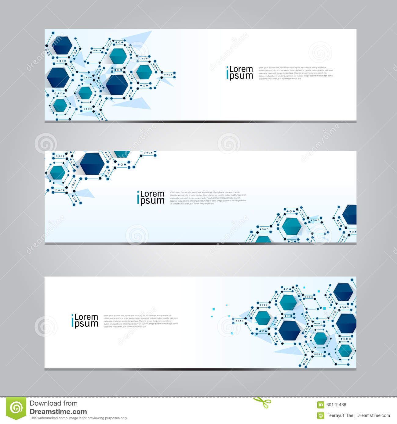 vector design banner technology background stock vector  image