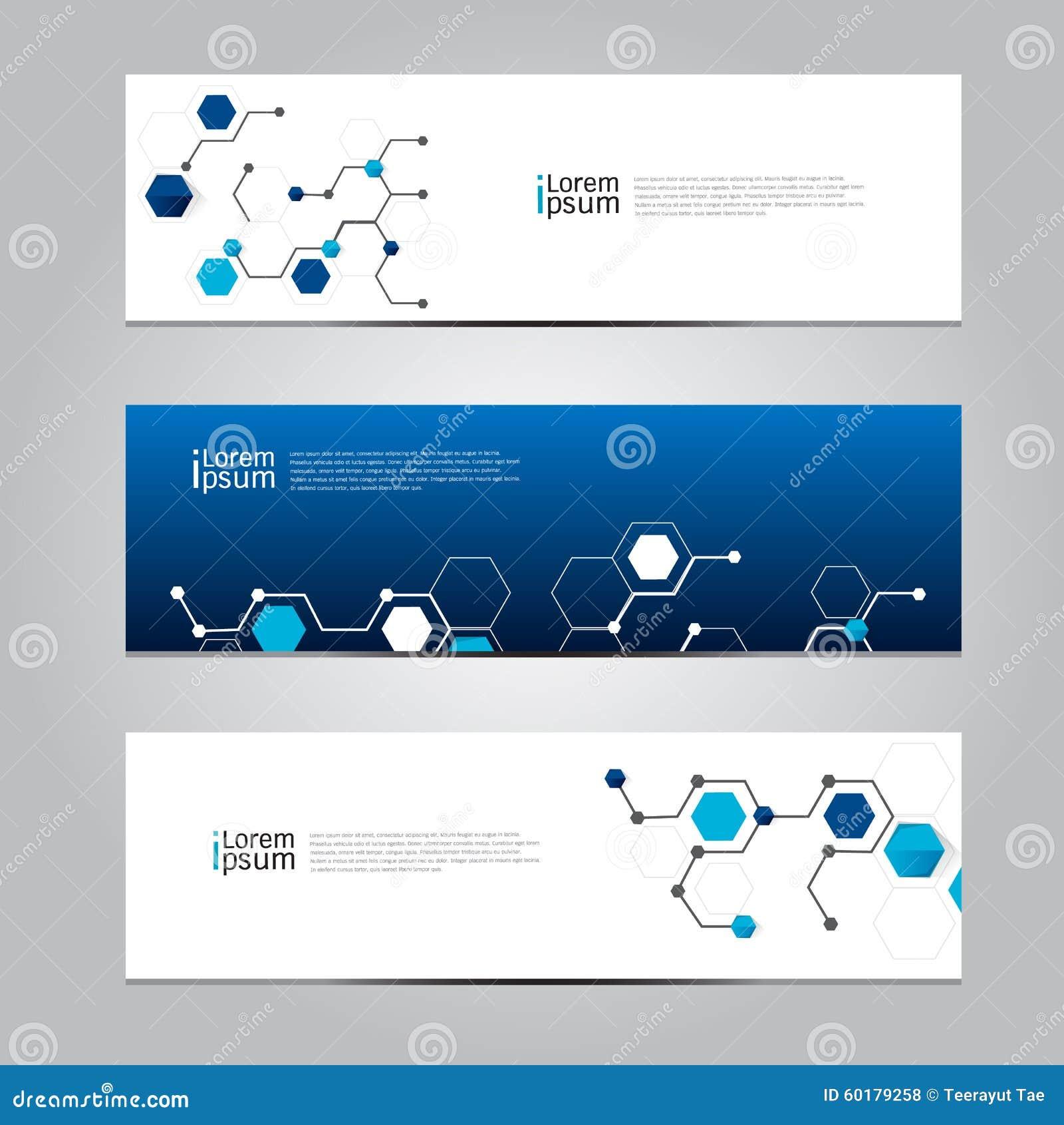 vector design banner technology background  stock vector