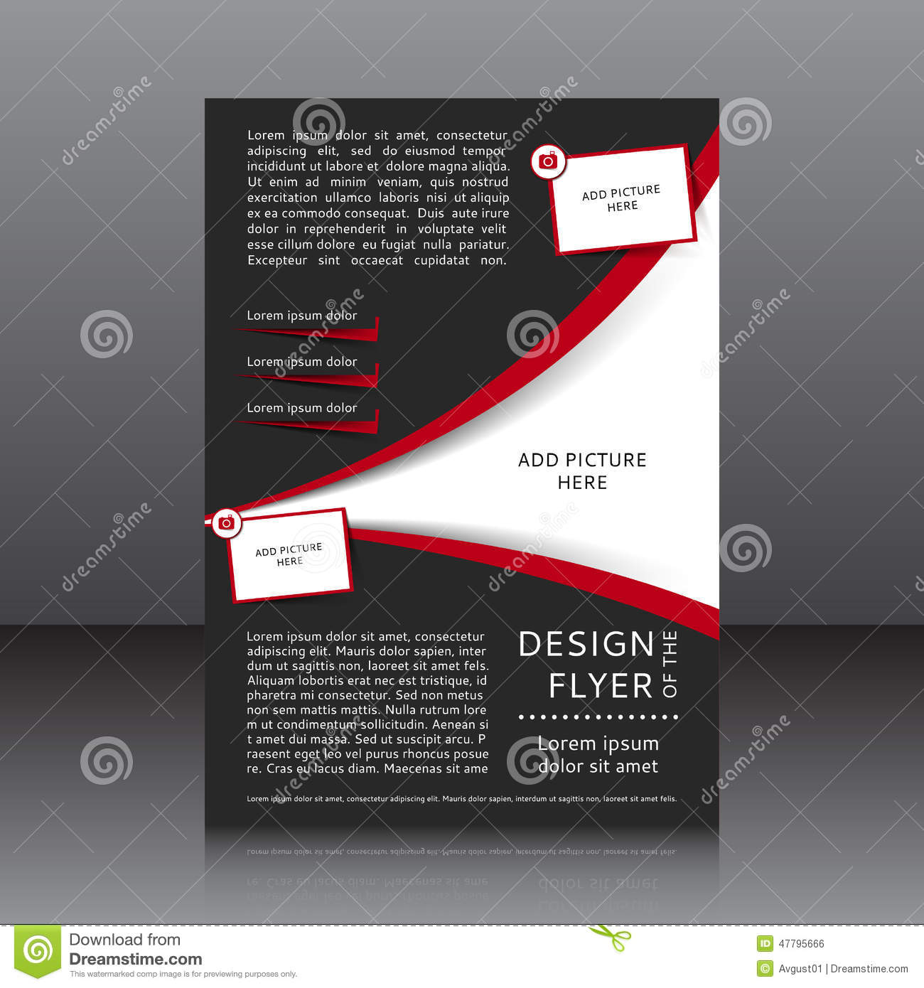 Flyer Design Elements Divingthexperienceco - Template for making a flyer