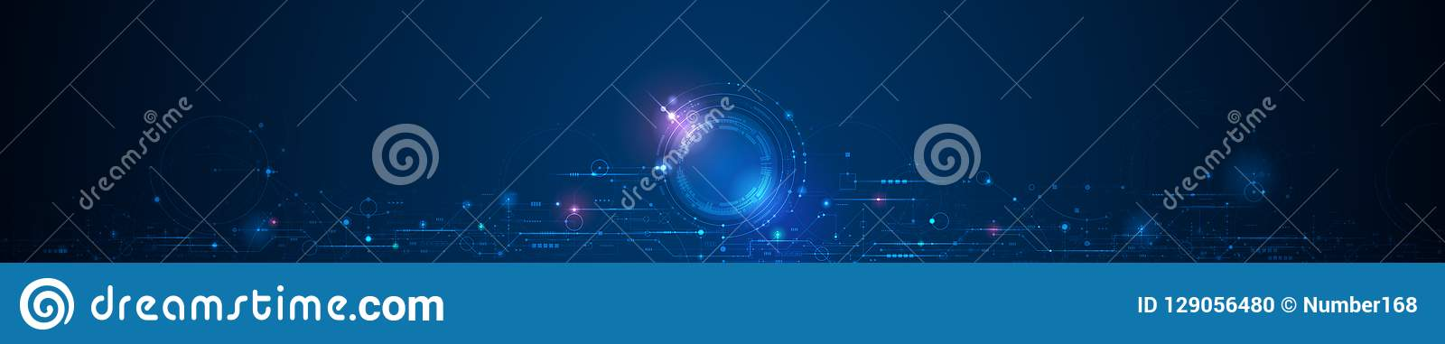Vector design circuit board. Hi tech digital connect, communication, high technology concept