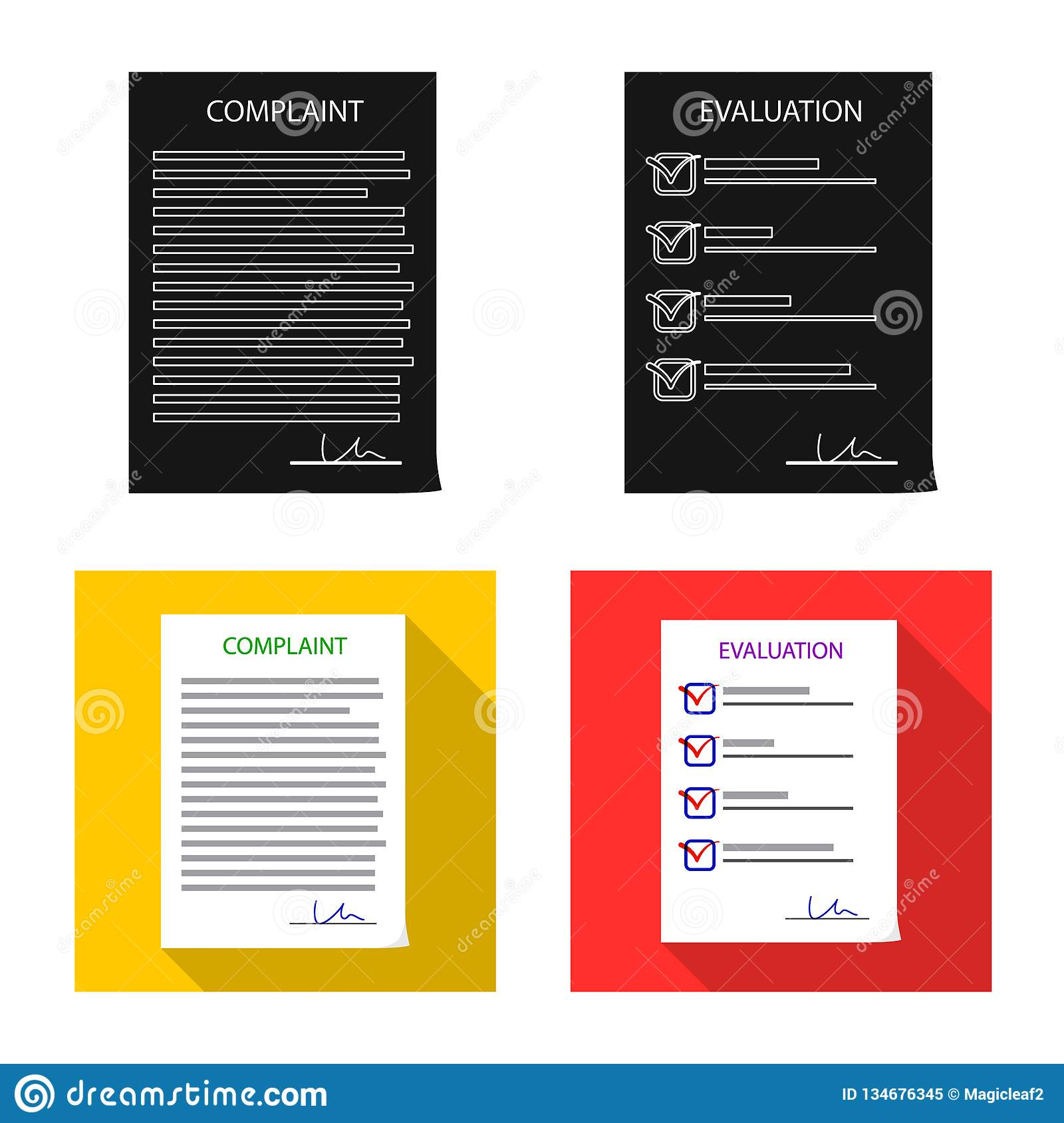 Isolated object of form and document icon. Set of form and mark stock vector illustration.