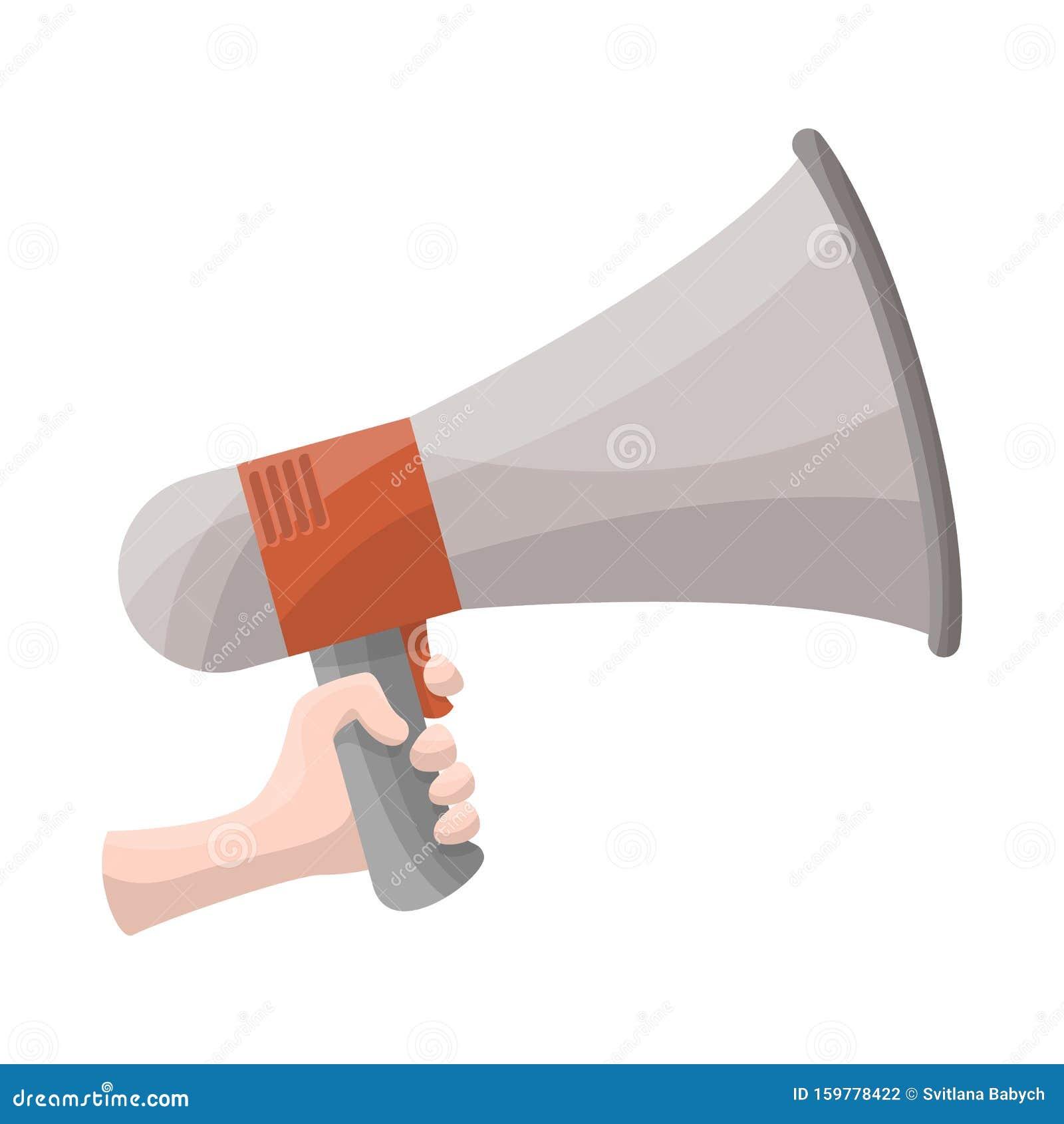 vector design of megaphone and speaker symbol graphic of megaphone and loudspeaker stock vector illustration stock vector illustration of sign isolated 159778422 dreamstime com