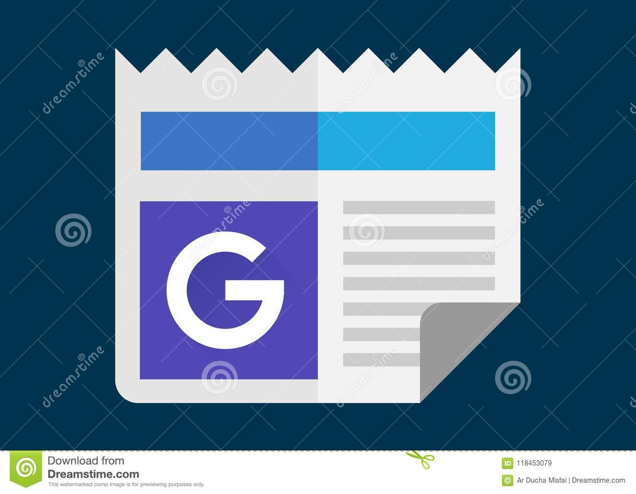 Google News And Weather Apk Icon Editorial Stock Image