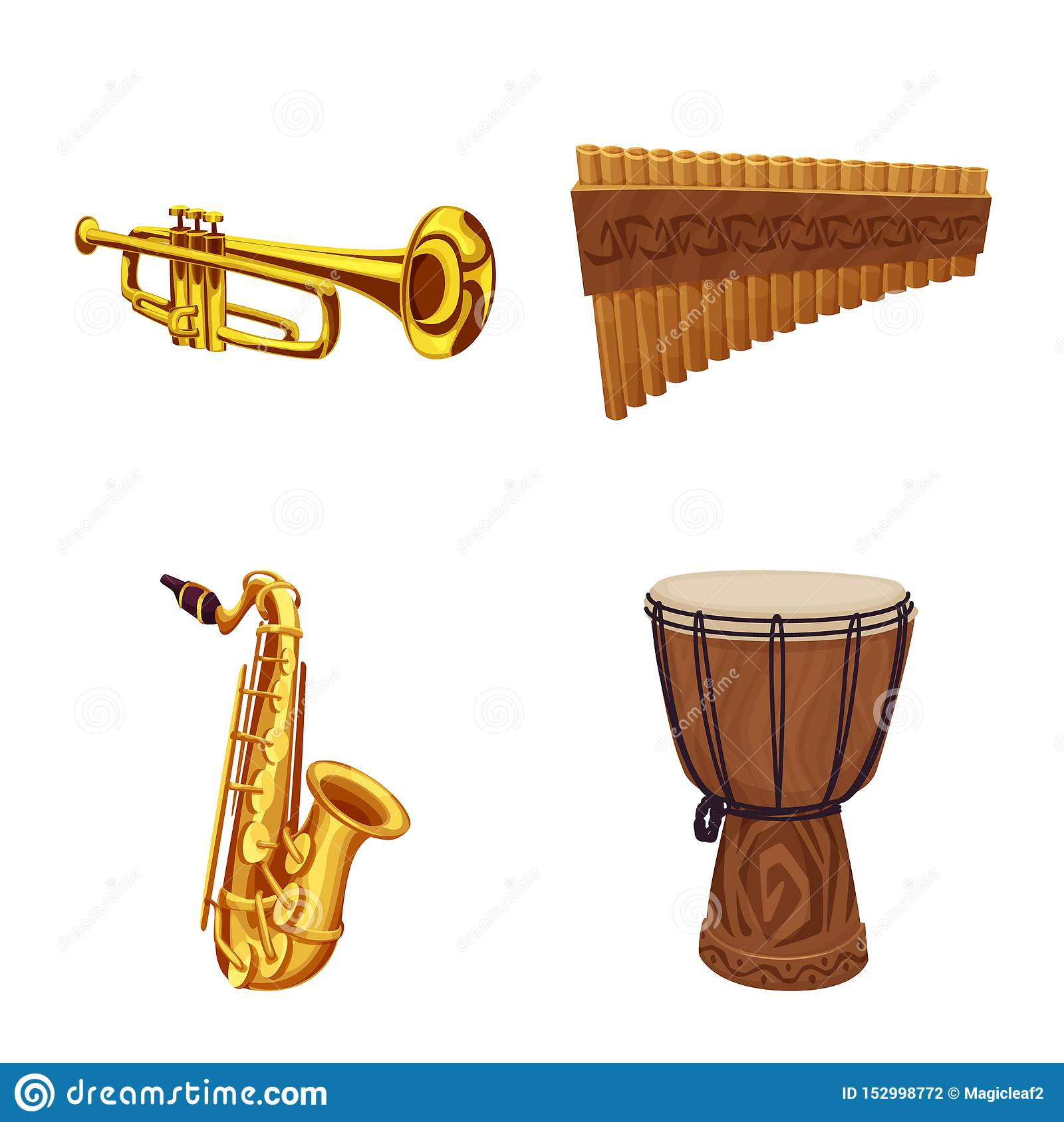 Isolated object of music and tune symbol. Collection of music and tool stock symbol for web.