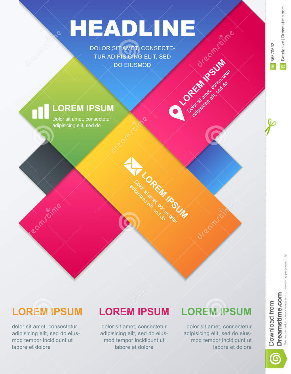 vector design template  concept for business infographics