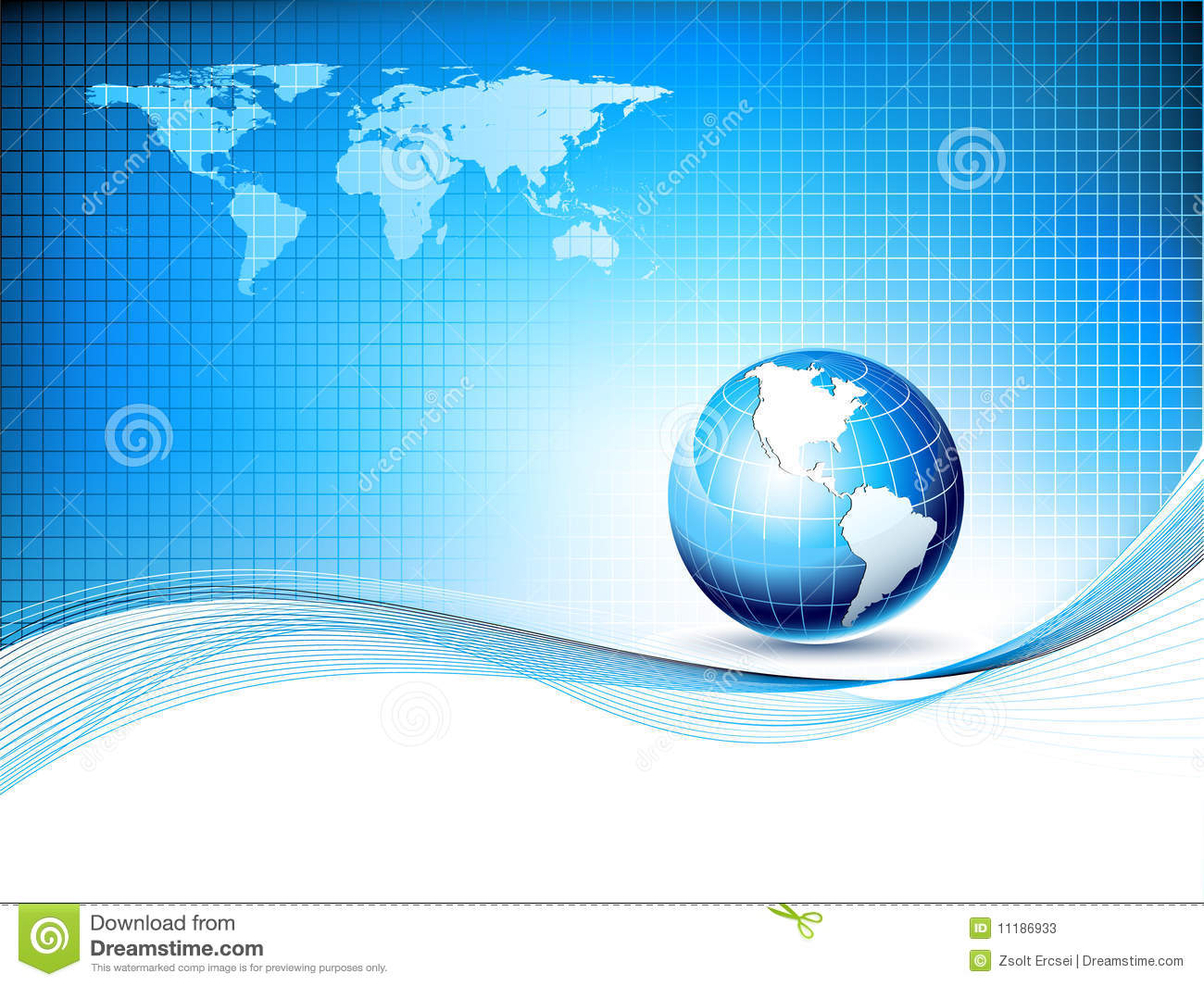 Vector design template with earth globe and map stock vector vector design template with earth globe and map gumiabroncs Image collections