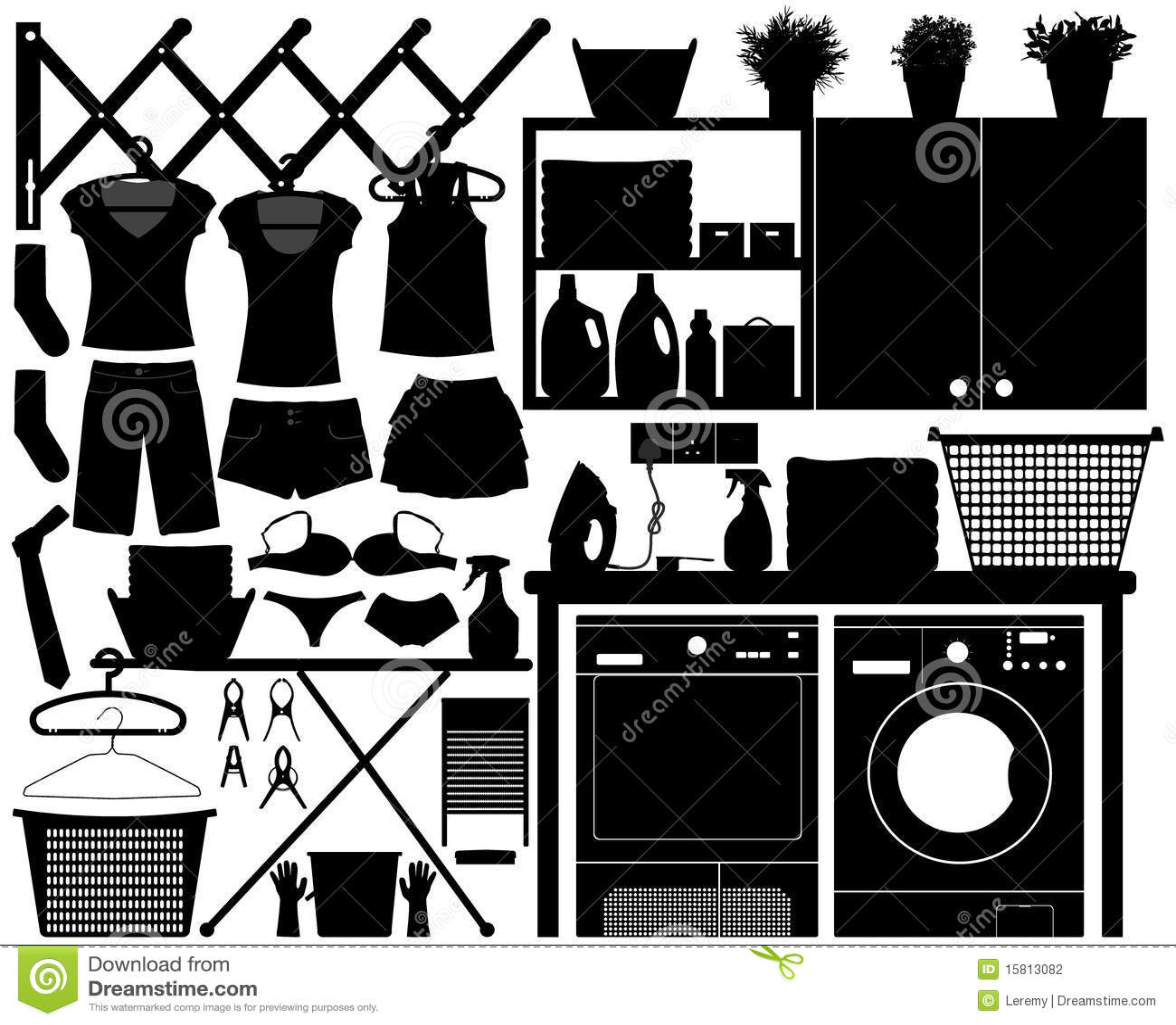 Vector determinado del dise o del lavadero fotograf a de for Diseno lavadero