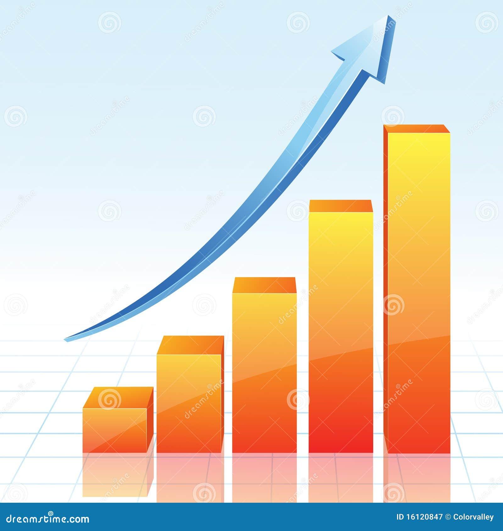 Vector Diagram Arrow Royalty Free Stock Photography